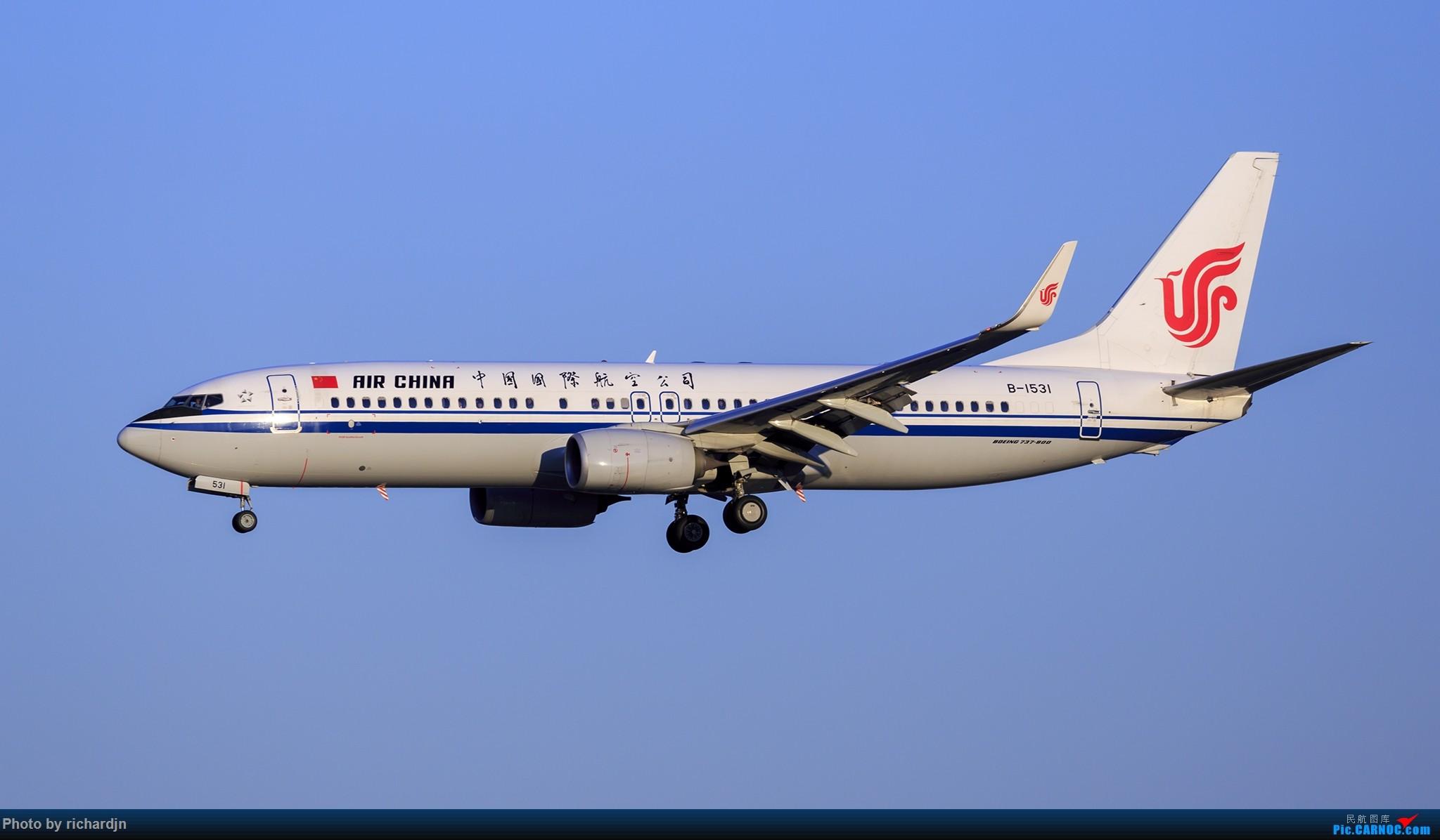 Re:[原创]2018年10月1日ZBAA撸机 BOEING 737-800 B-1531 中国北京首都国际机场