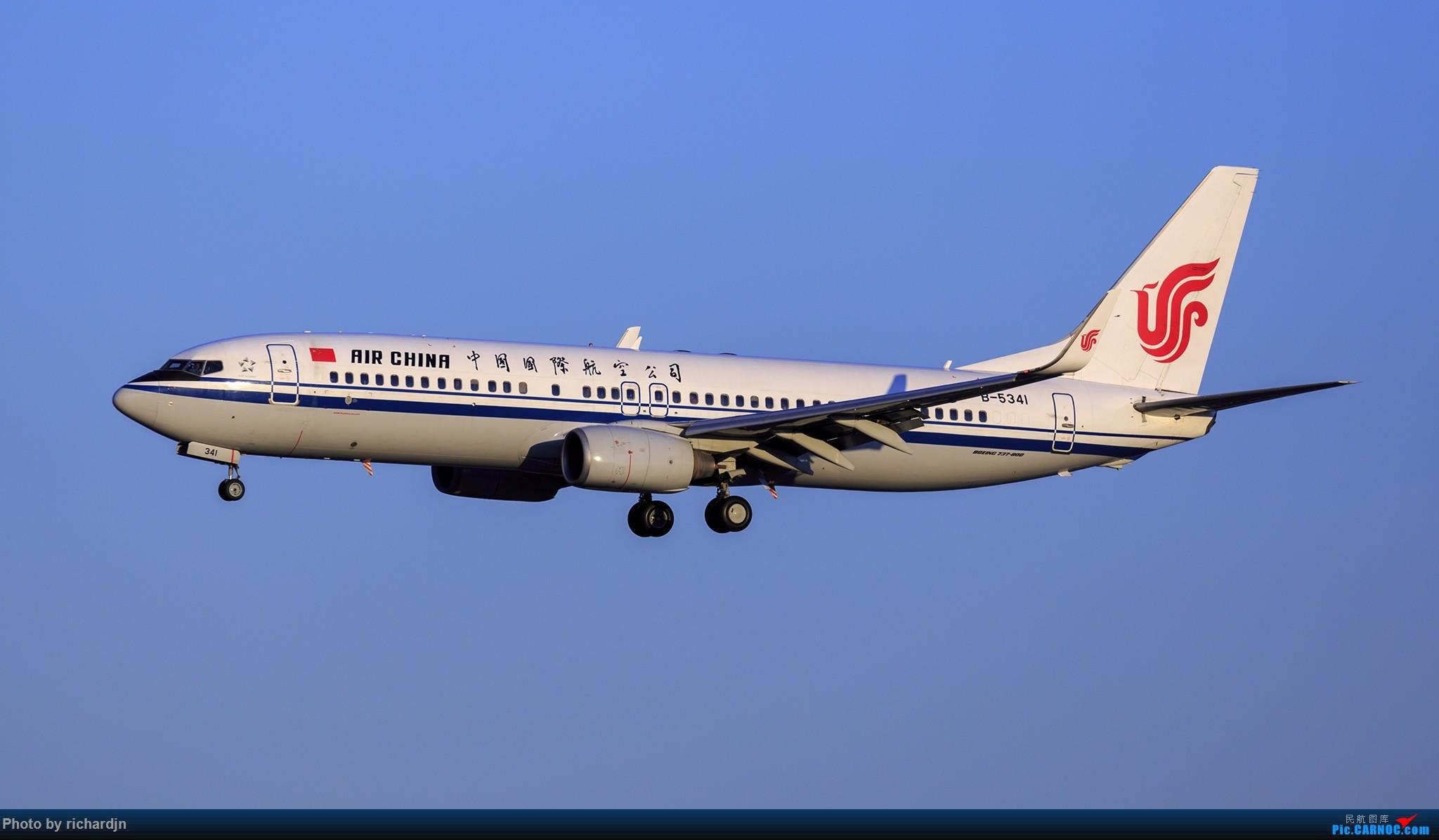 Re:[原创]2018年10月1日ZBAA撸机 BOEING 737-800 B-5341 中国北京首都国际机场