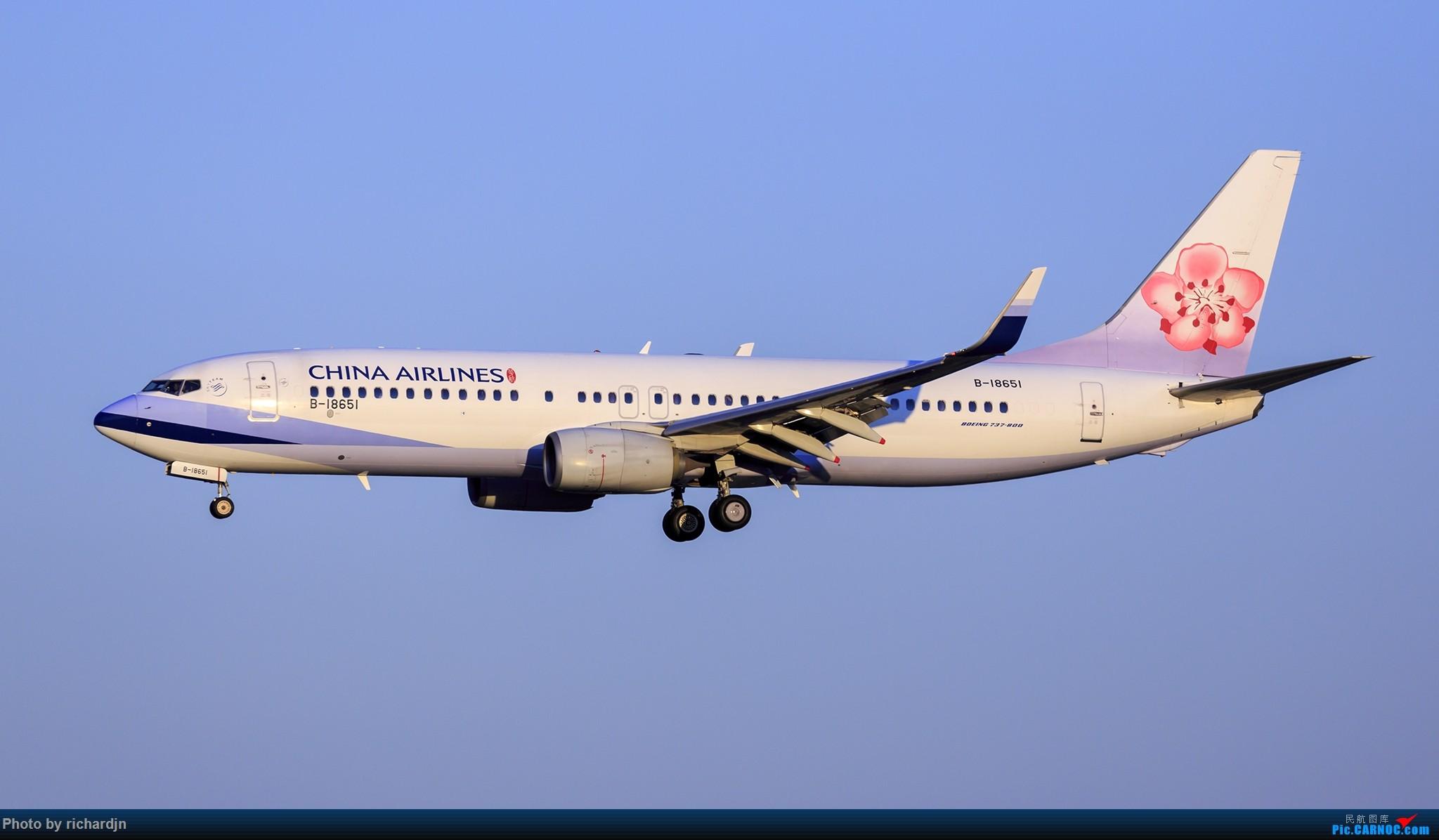 Re:[原创]2018年10月1日ZBAA撸机 BOEING 737-800 B-18651 中国北京首都国际机场
