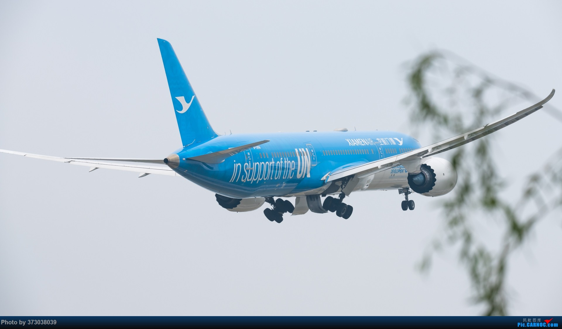 Re:【杭州飞友会】荷航遇上厦航联合国,大蓝787-9 BOEING 787-9 B-1356 中国杭州萧山国际机场