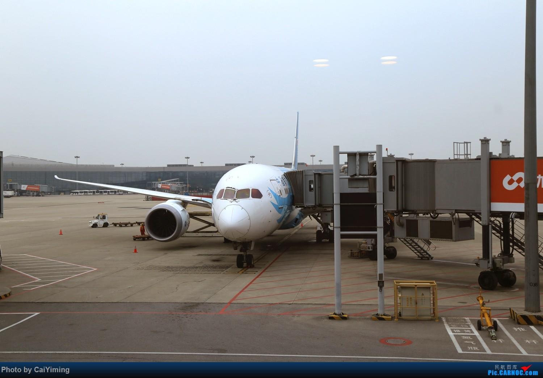 Re:[原创]白云之城——广州行记(南通兴东ZSNT/NTG—广州白云ZGGG/CAN—上海虹桥ZSSS/SHA) BOEING 787-8 B-2787 中国上海虹桥国际机场