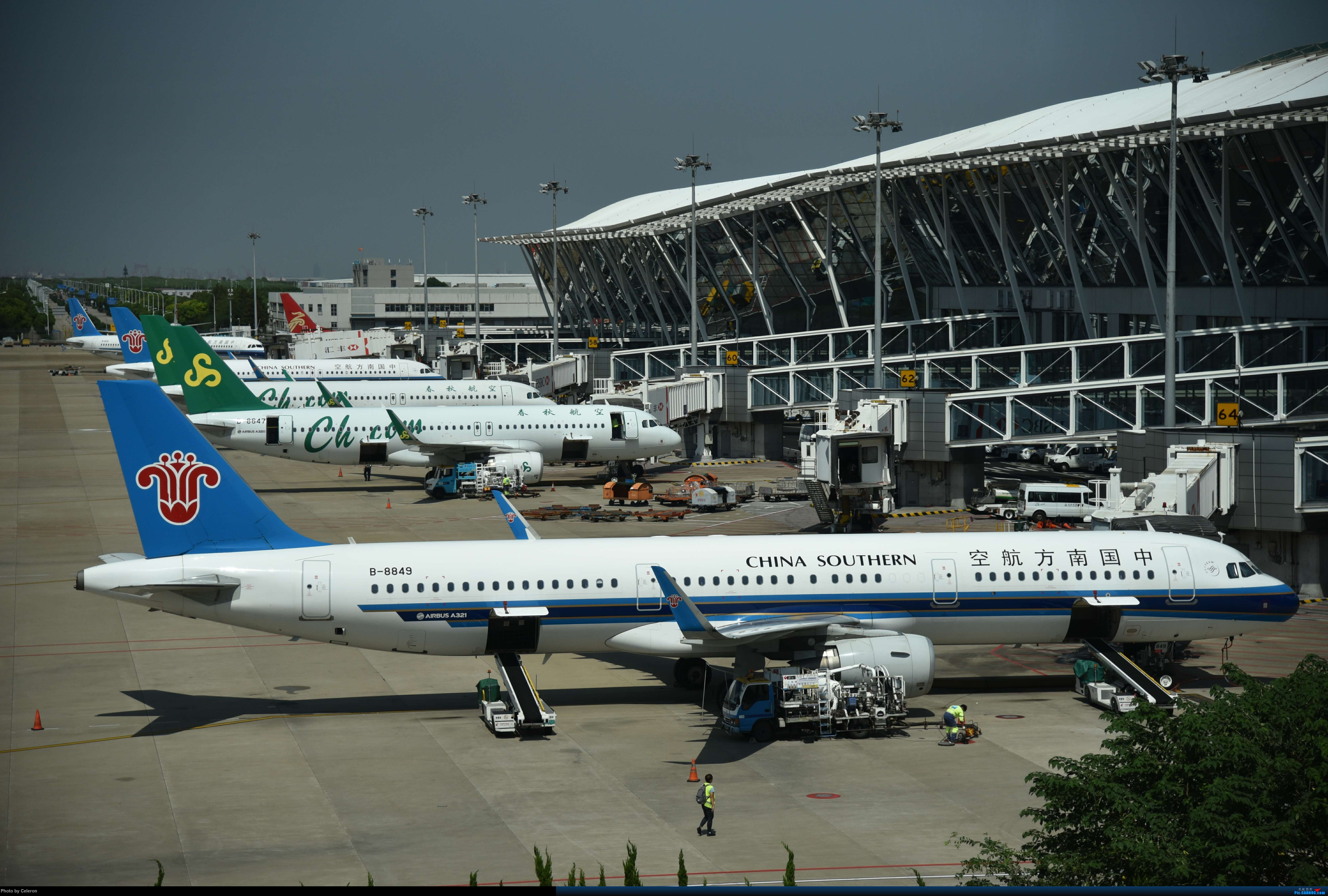 Re:[原创]中秋节上海之行返程PVG-XIY AIRBUS A321-200 B-8849 中国上海浦东国际机场