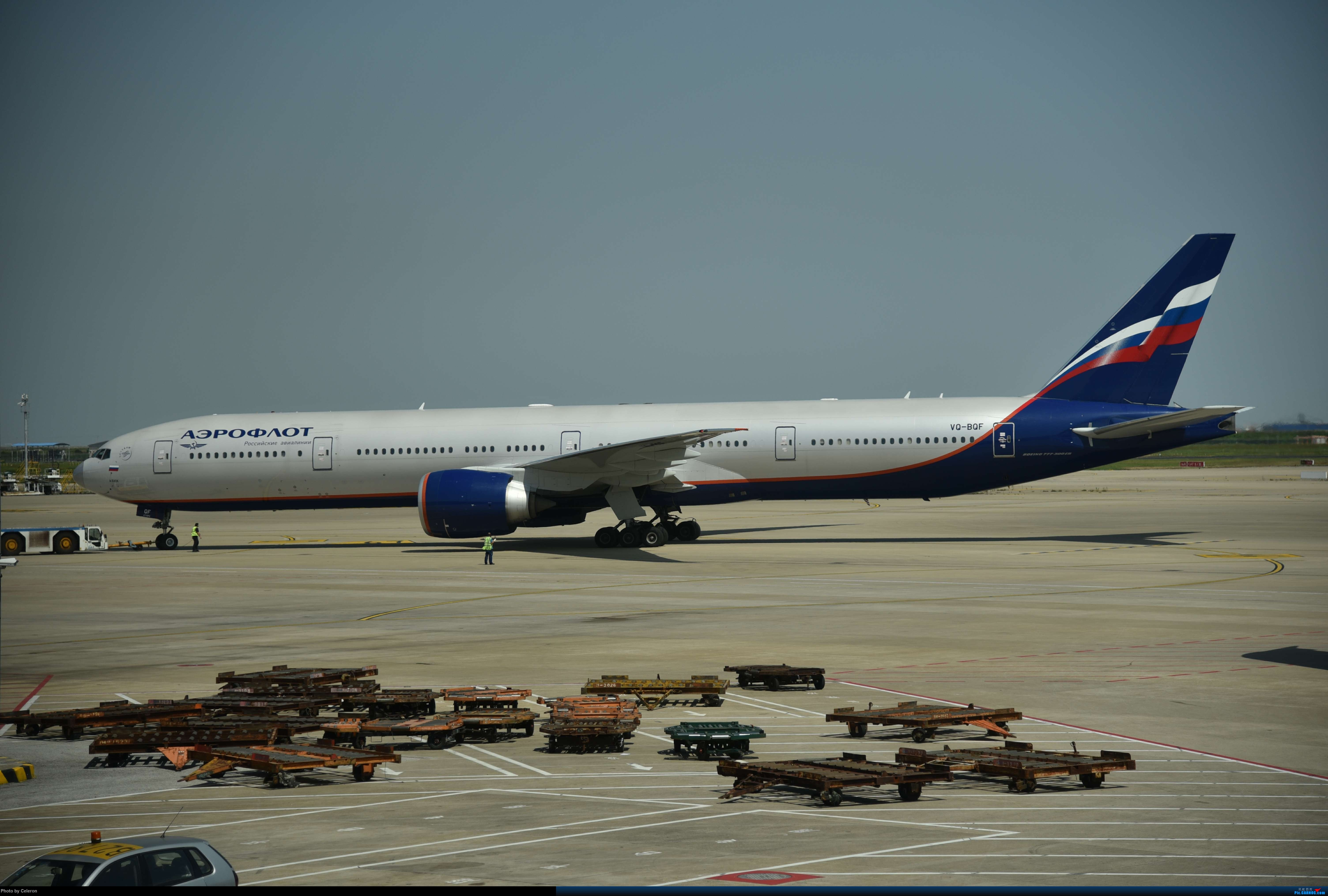 Re:[原创]中秋节上海之行返程PVG-XIY BOEING 777-300ER VQ-BQF 中国上海浦东国际机场