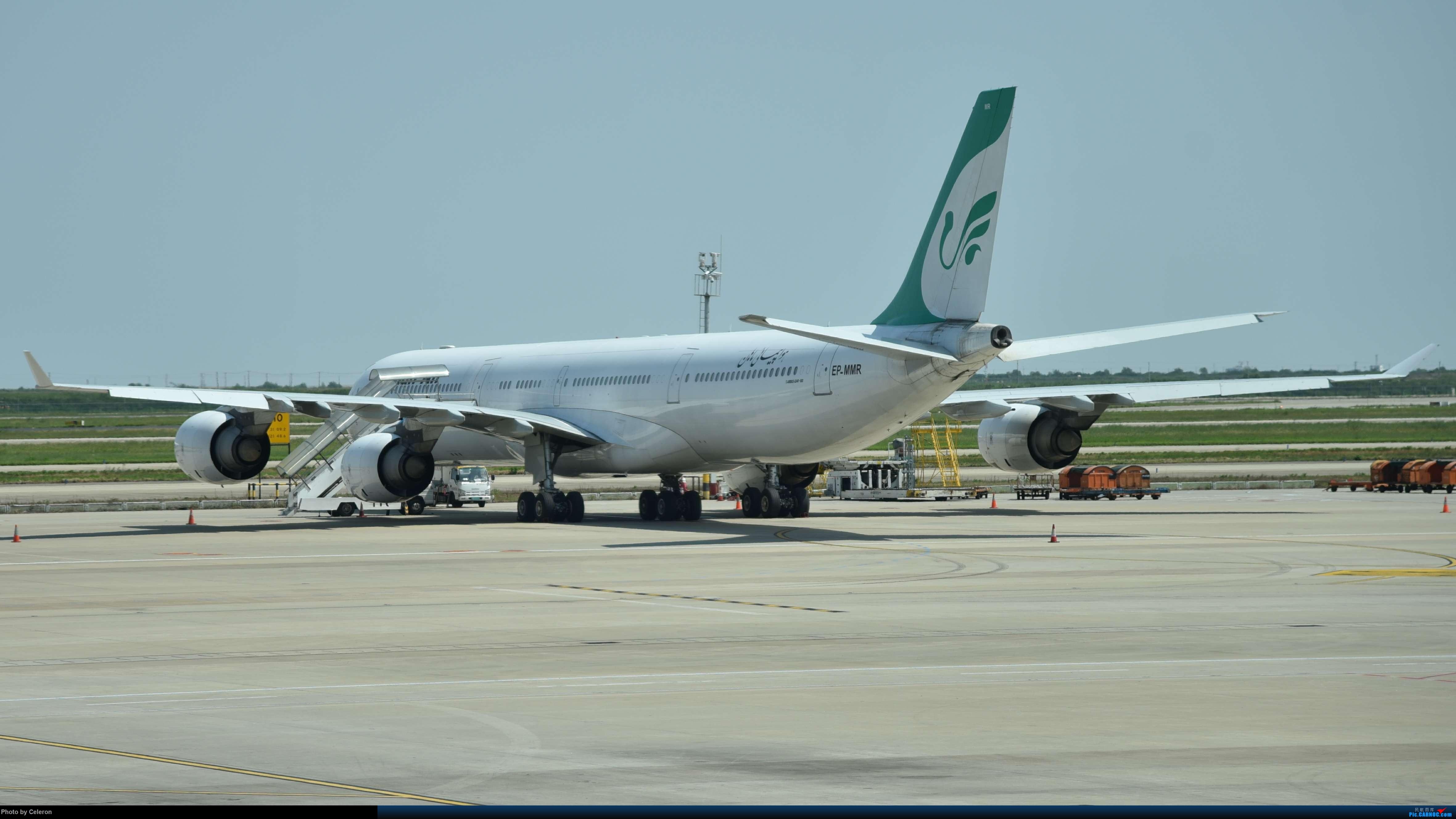 Re:[原创]中秋节上海之行返程PVG-XIY AIRBUS A340-600 EP-MMR 中国上海浦东国际机场
