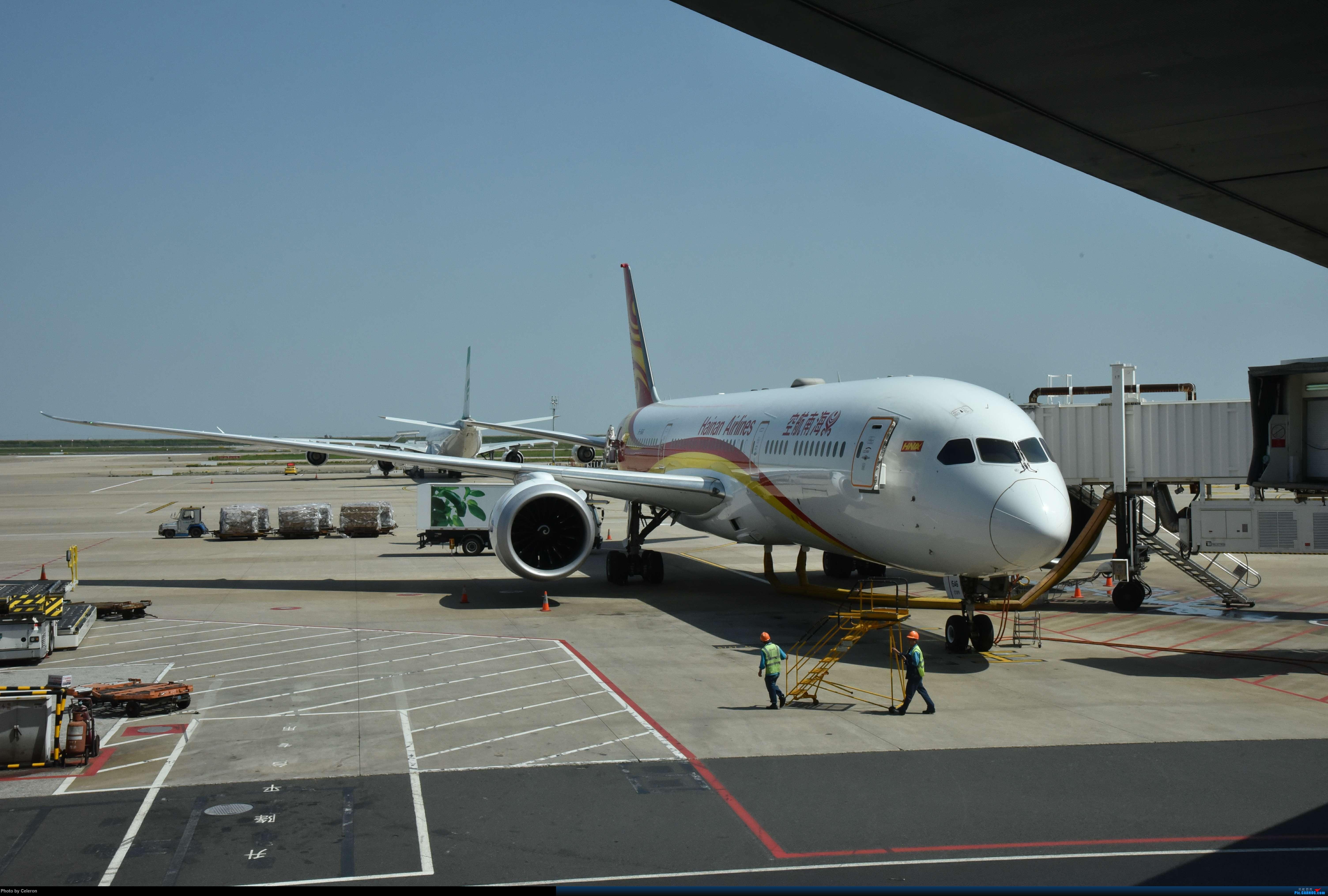 Re:[原创]中秋节上海之行返程PVG-XIY BOEING 787-9 B-1546 中国上海浦东国际机场