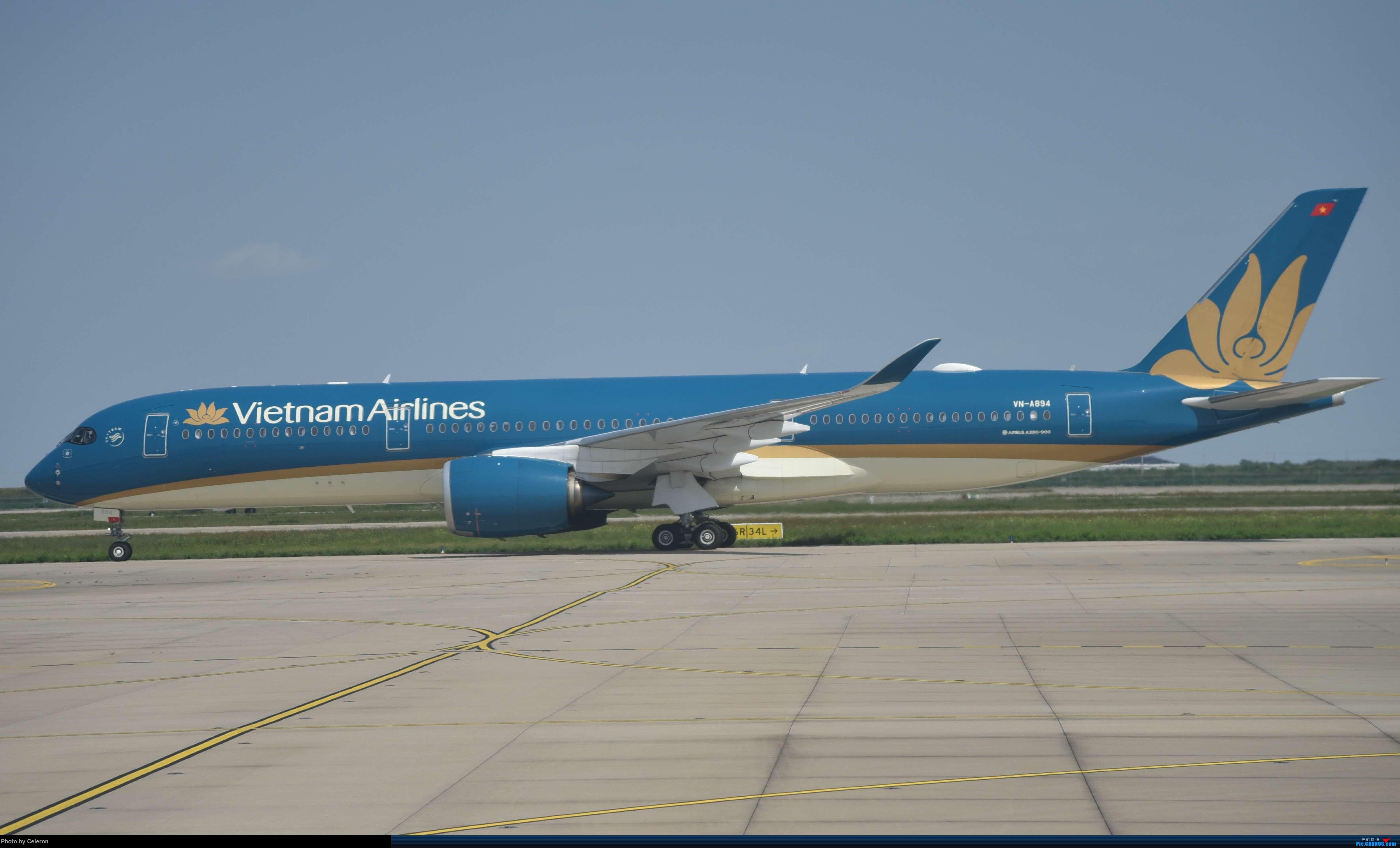 Re:[原创]中秋节上海之行返程PVG-XIY AIRBUS A350-900 VN-A894 中国上海浦东国际机场