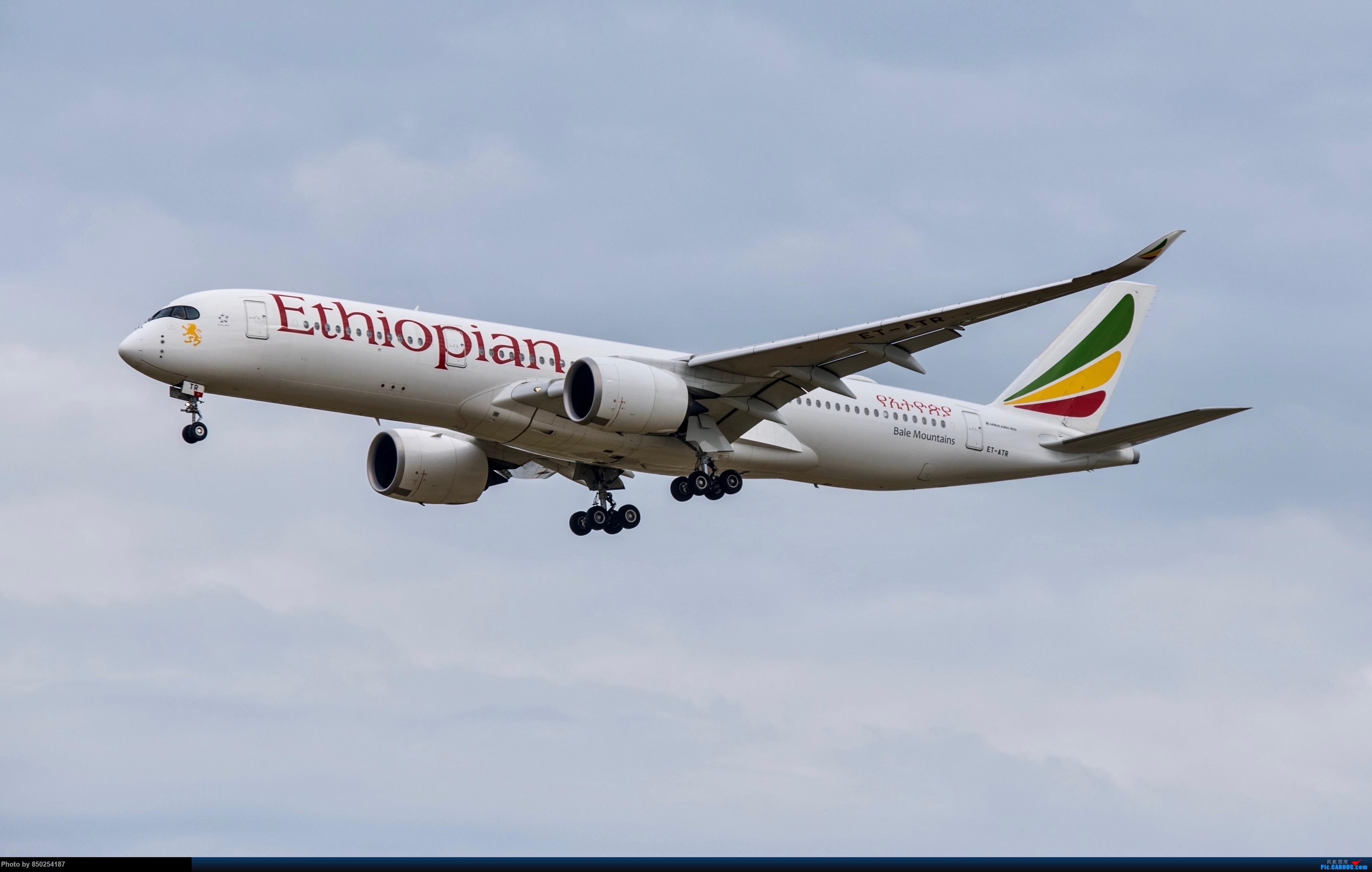 Re:[原创]转季转风向,觅PVG南端 AIRBUS A350-900 ET-ATR
