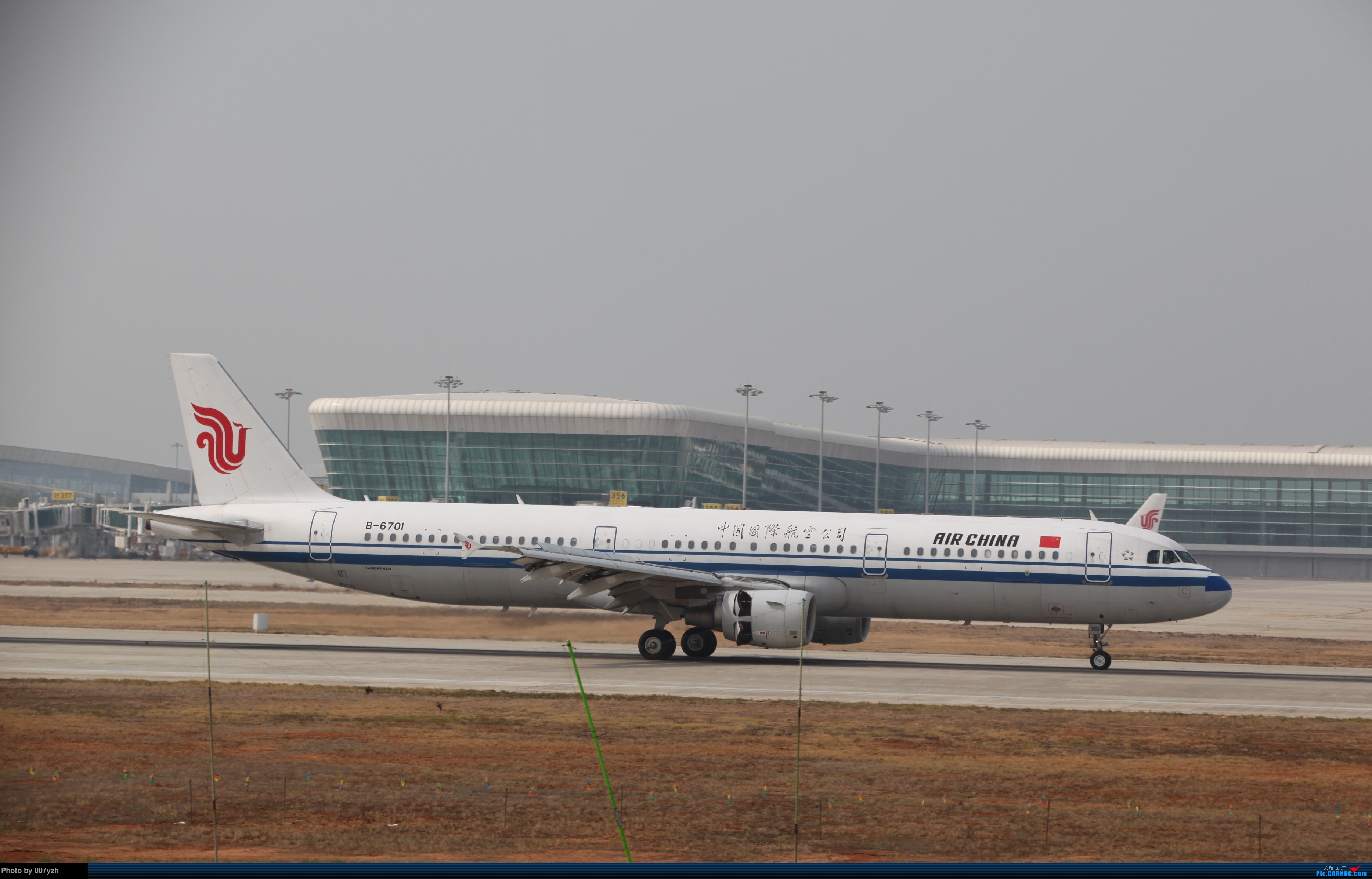 Re:[原创]WUH小拍,终于找到了在WUH拍机的组织 AIRBUS A321-200 B-6701 中国武汉天河国际机场