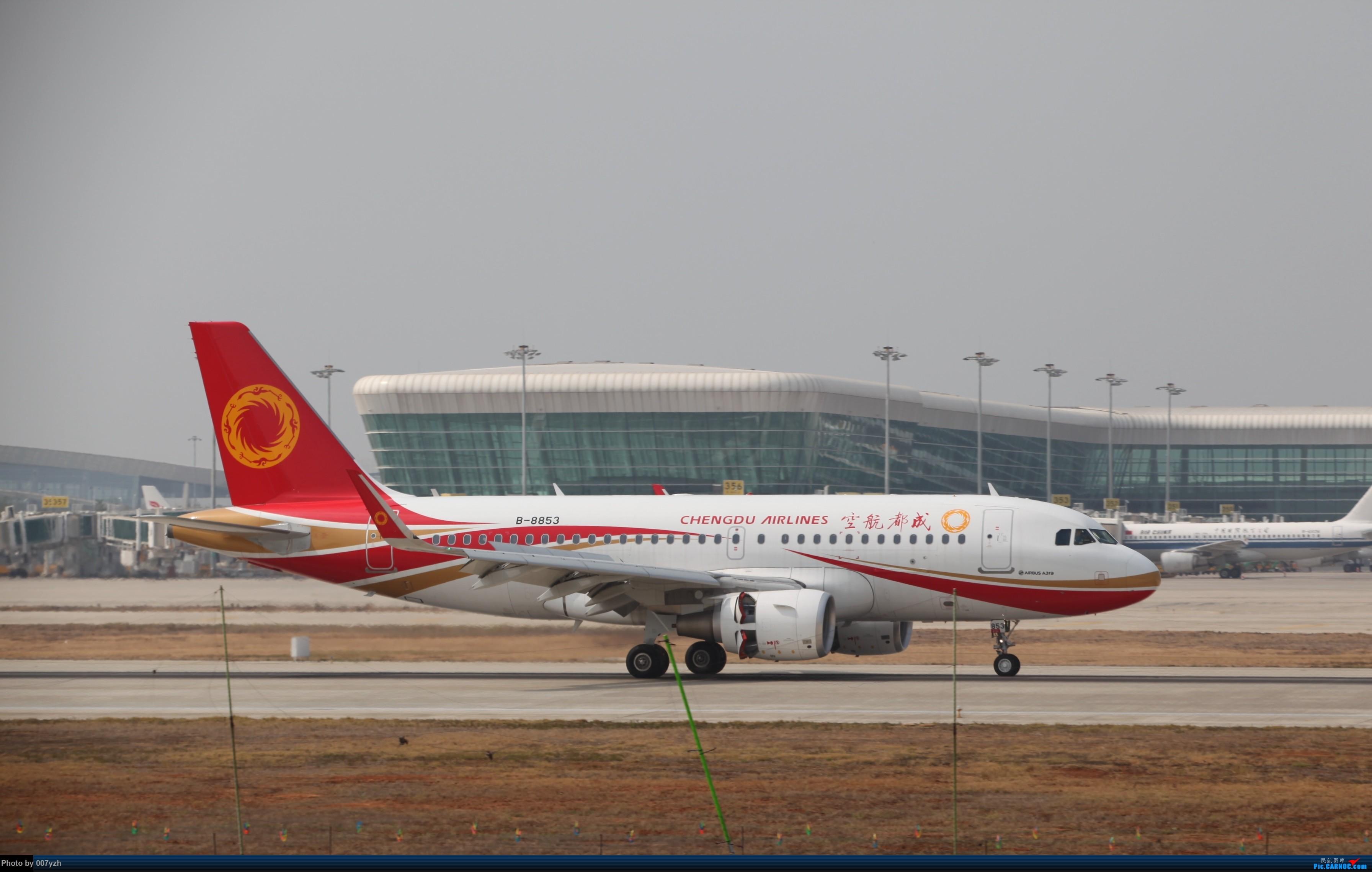 Re:[原创]WUH小拍,终于找到了在WUH拍机的组织 AIRBUS A319-100 B-8853 中国武汉天河国际机场