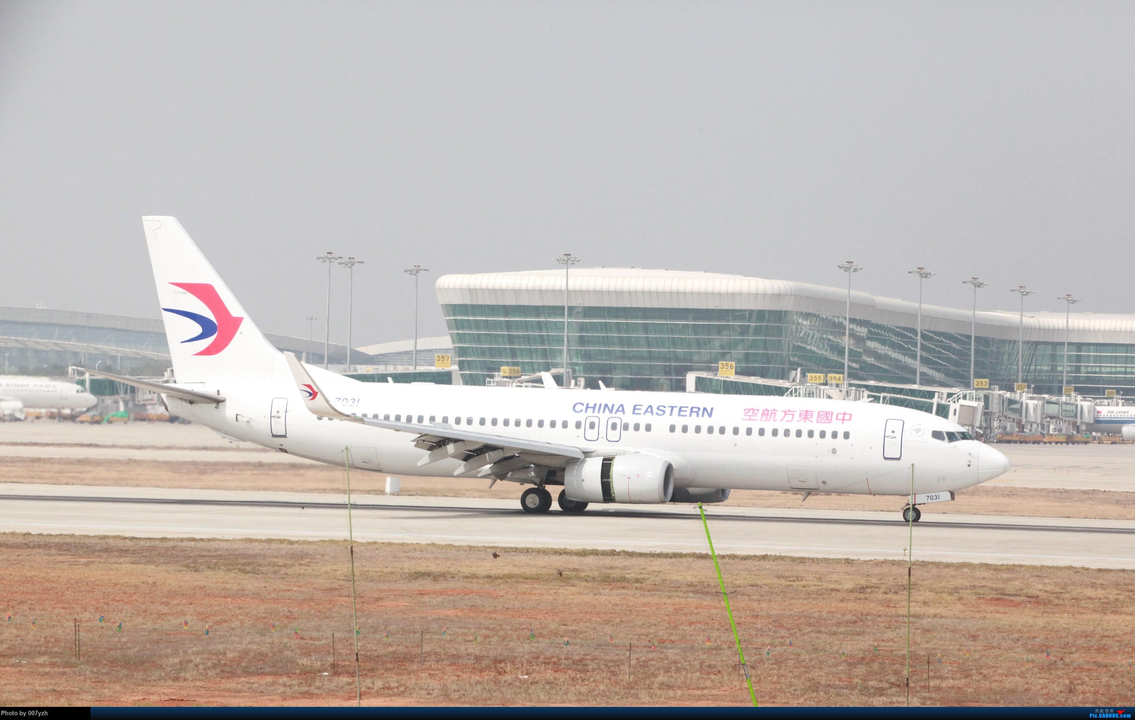 Re:[原创]WUH小拍,终于找到了在WUH拍机的组织 BOEING 737-800 B-7031 中国武汉天河国际机场
