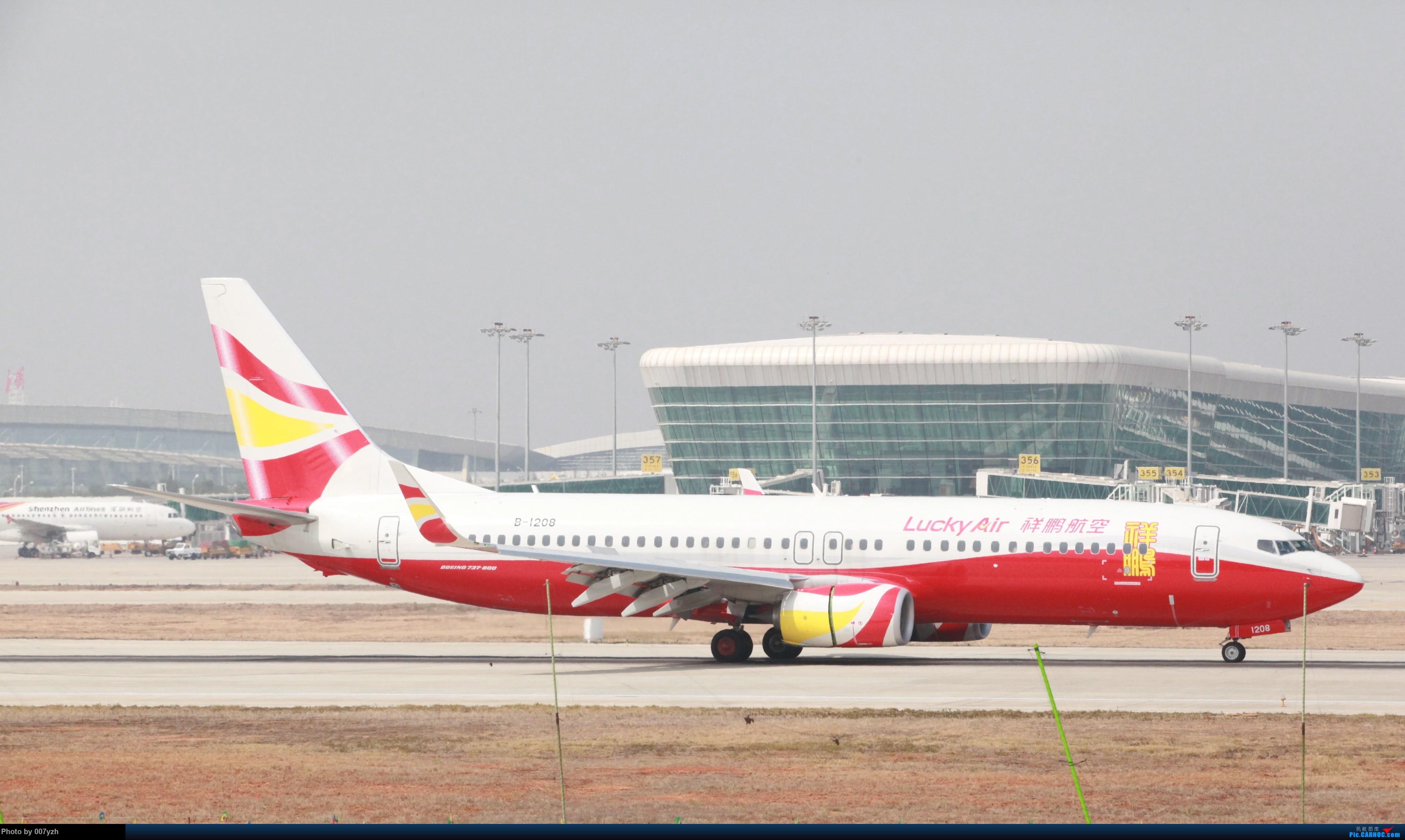 Re:[原创]WUH小拍,终于找到了在WUH拍机的组织 BOEING 737-800 B-1208 中国武汉天河国际机场