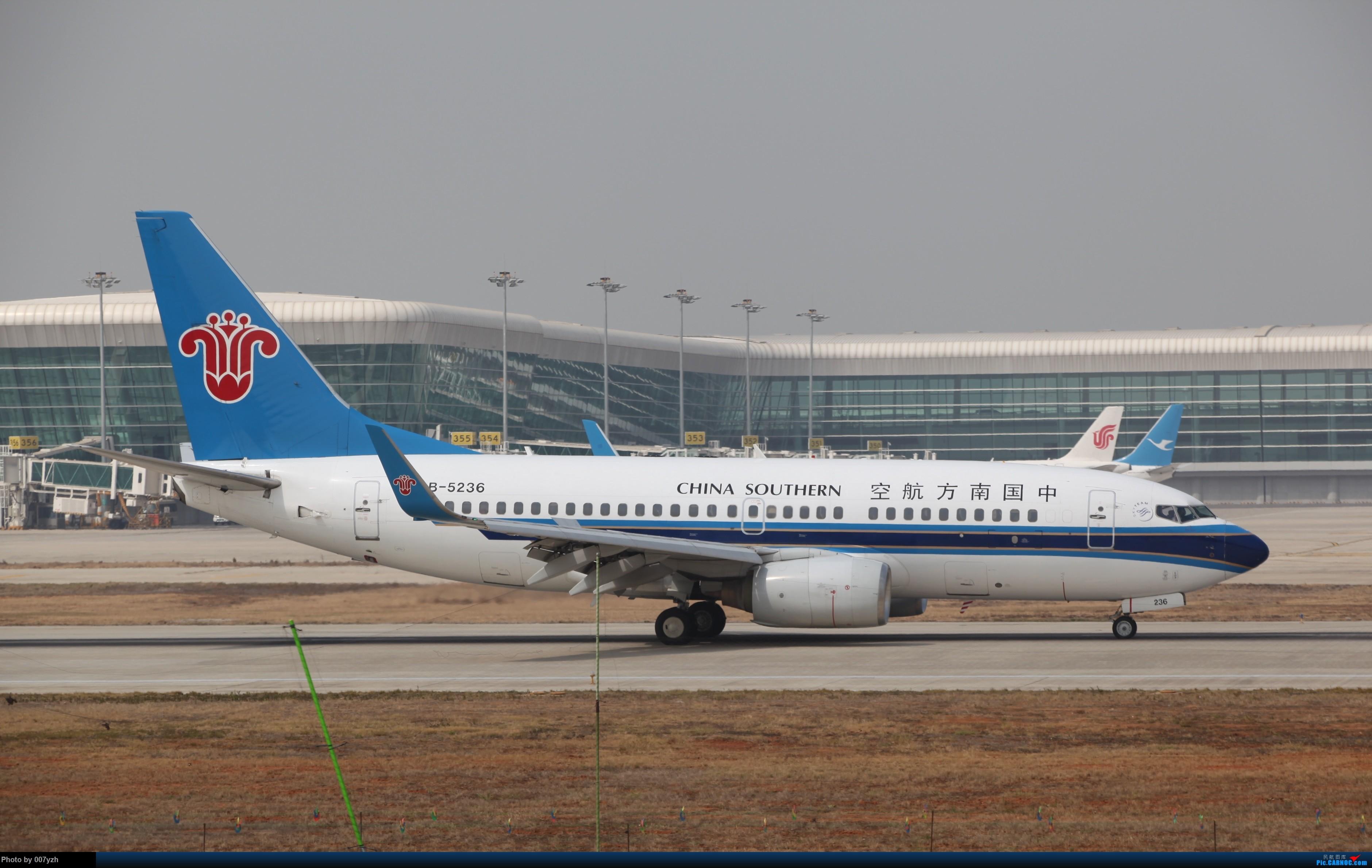 Re:[原创]WUH小拍,终于找到了在WUH拍机的组织 BOEING 737-700 B-5236 中国武汉天河国际机场