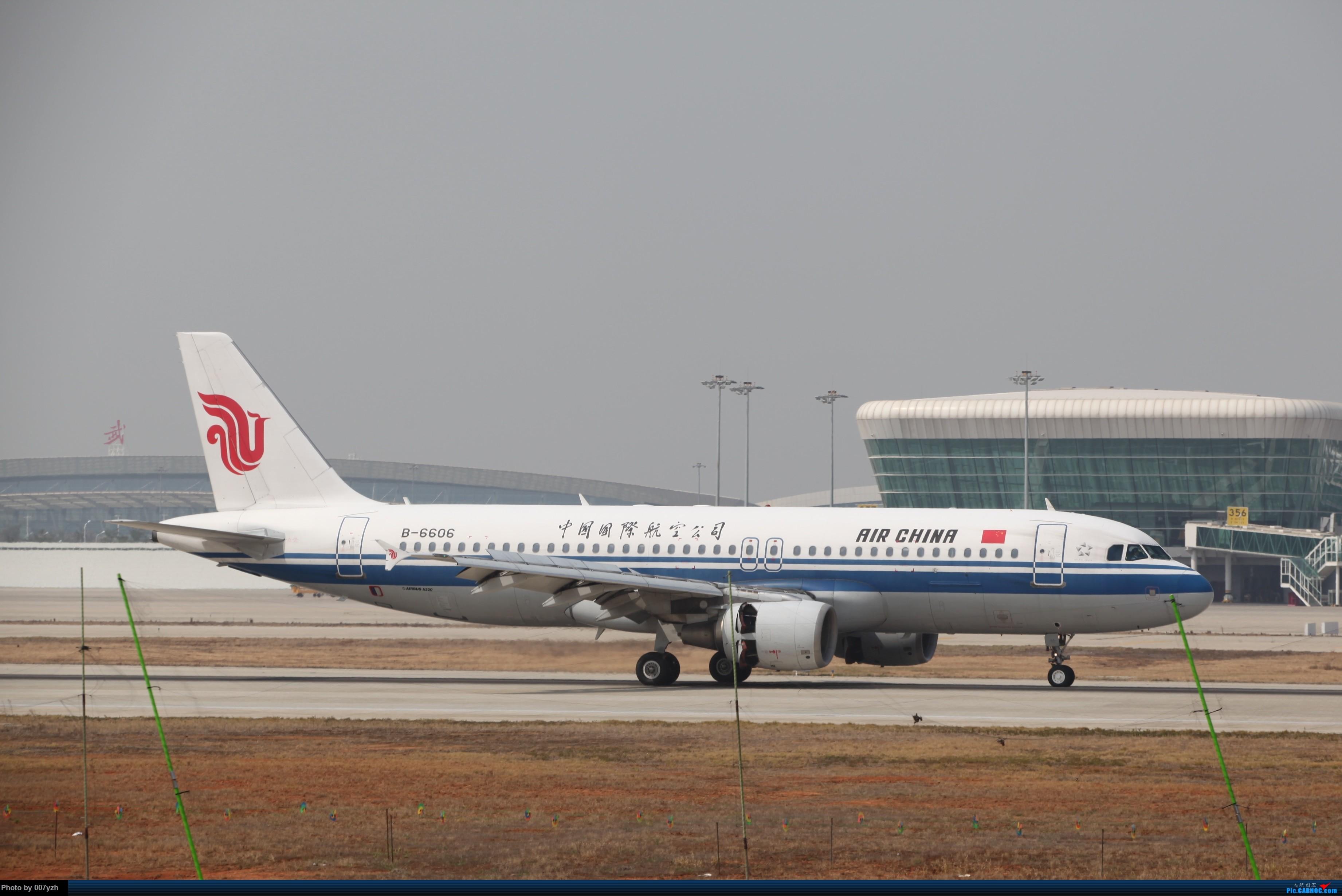 Re:[原创]WUH小拍,终于找到了在WUH拍机的组织 AIRBUS A320-200 B-6606 中国武汉天河国际机场