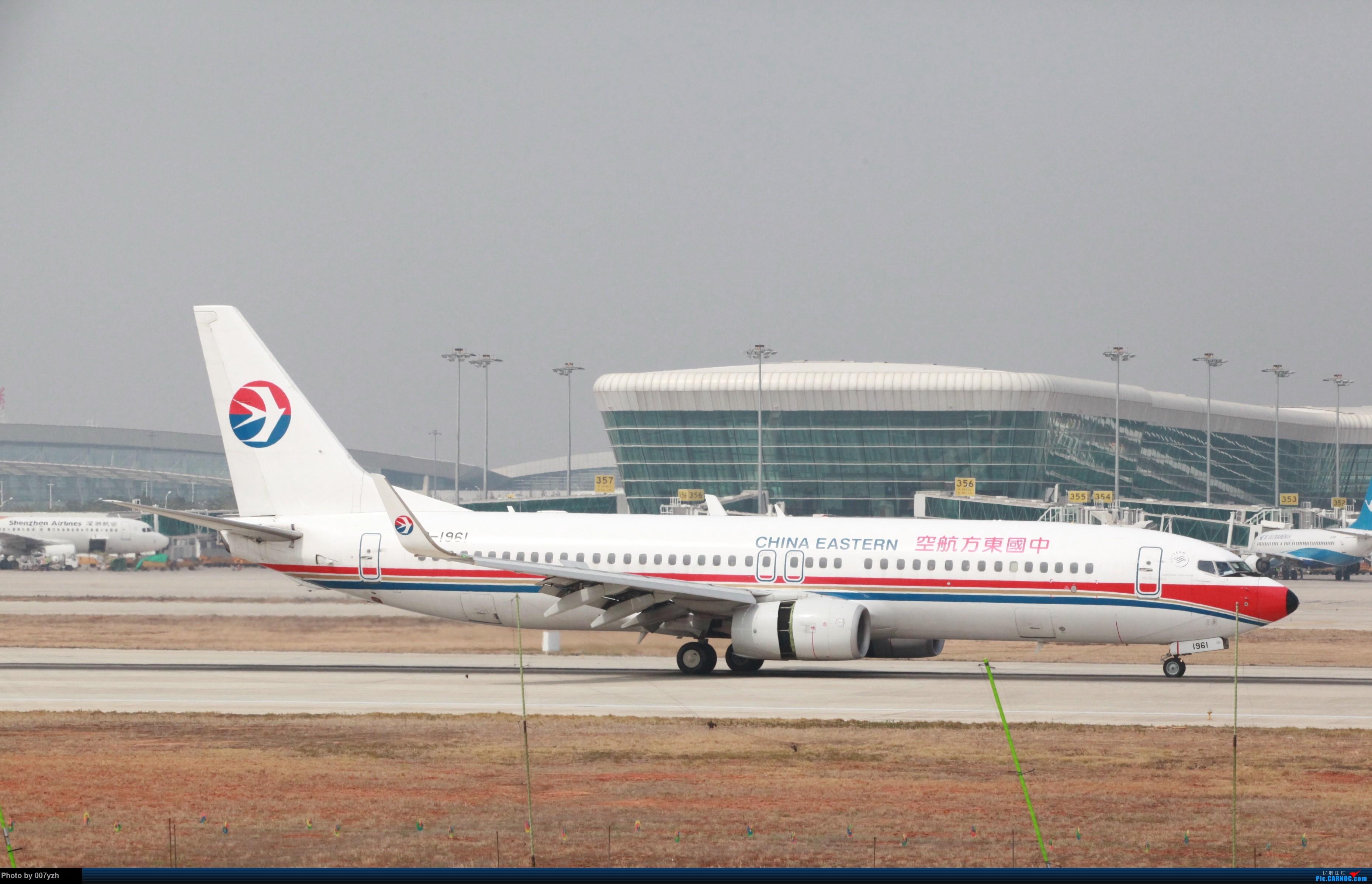 Re:[原创]WUH小拍,终于找到了在WUH拍机的组织 BOEING 737-800 B-1961 中国武汉天河国际机场