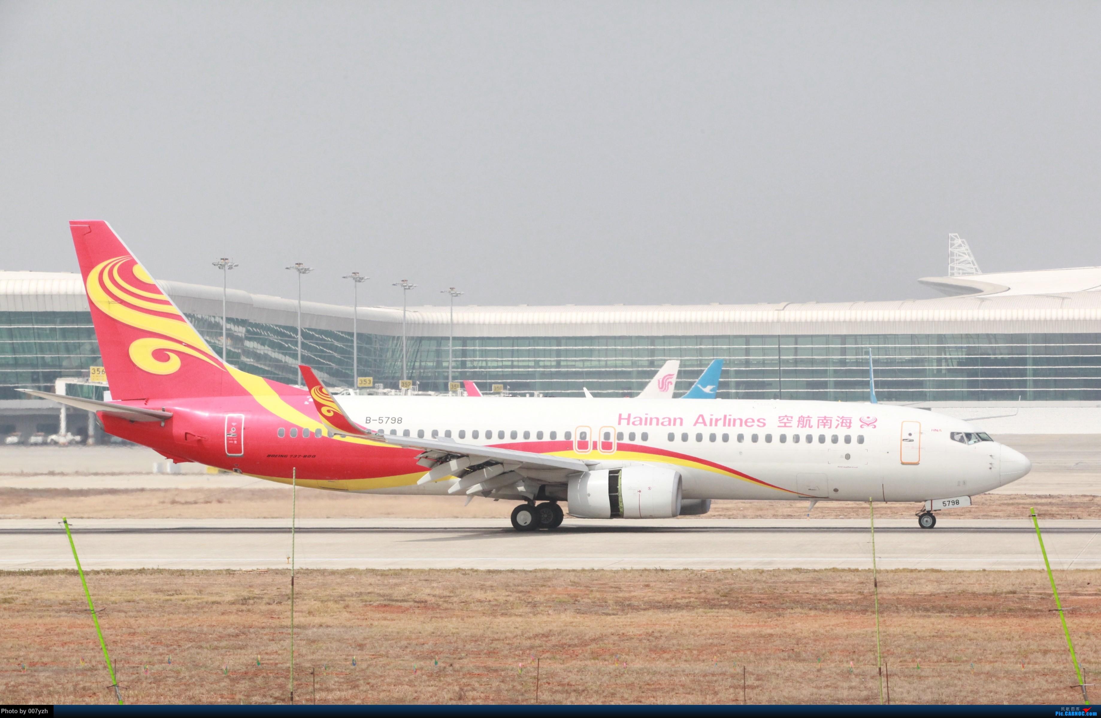 Re:[原创]WUH小拍,终于找到了在WUH拍机的组织 BOEING 737-800 B-5798 中国武汉天河国际机场