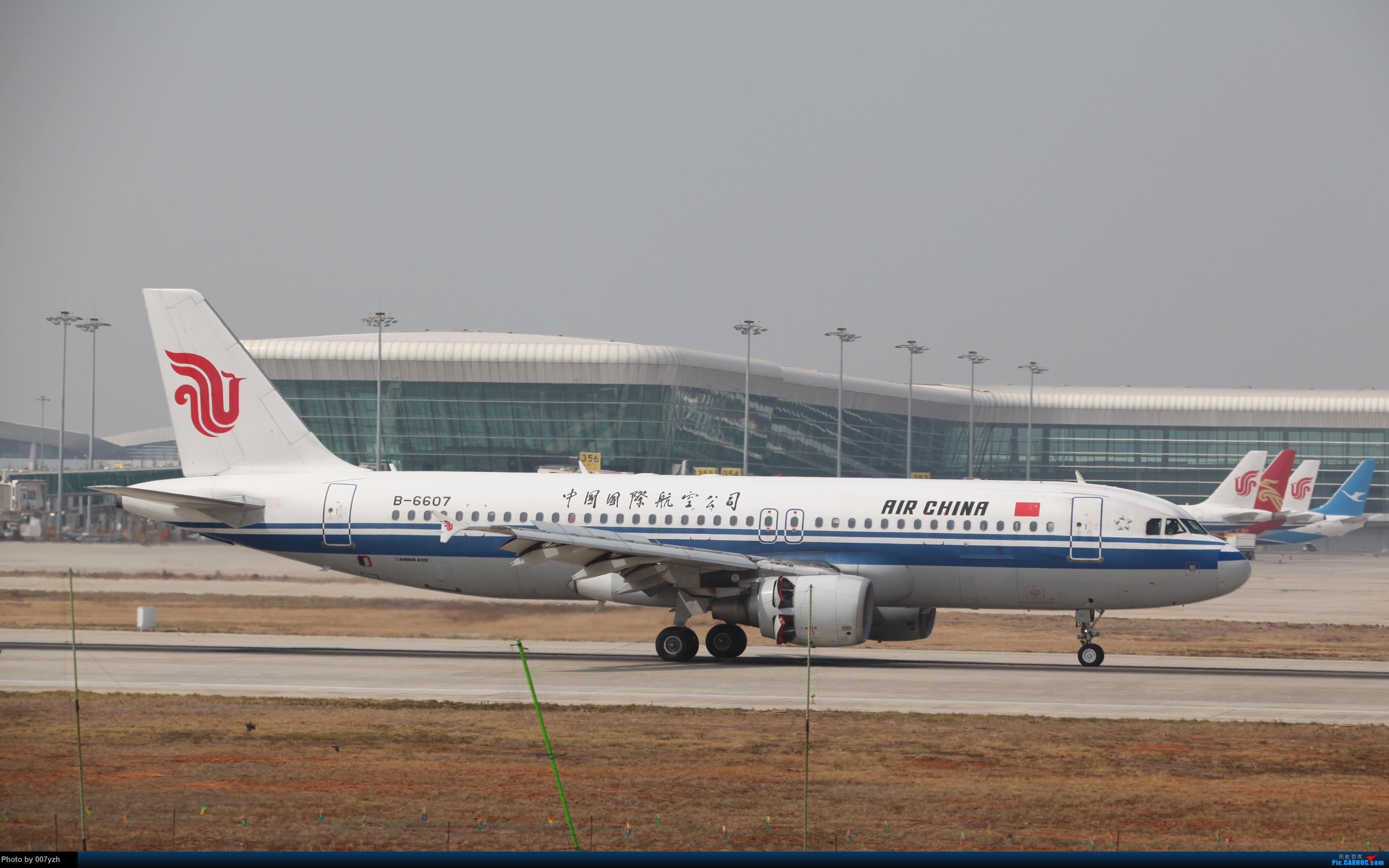 Re:[原创]WUH小拍,终于找到了在WUH拍机的组织 AIRBUS A320-200 B-6607 中国武汉天河国际机场