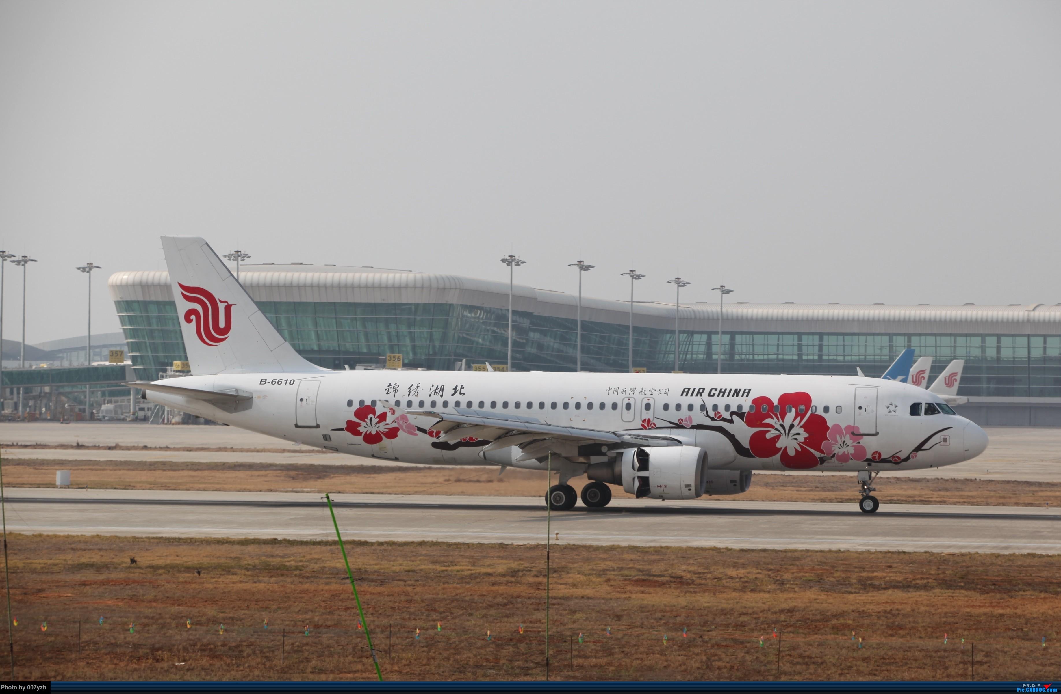 Re:[原创]WUH小拍,终于找到了在WUH拍机的组织 AIRBUS A320-200 B-6610 中国武汉天河国际机场