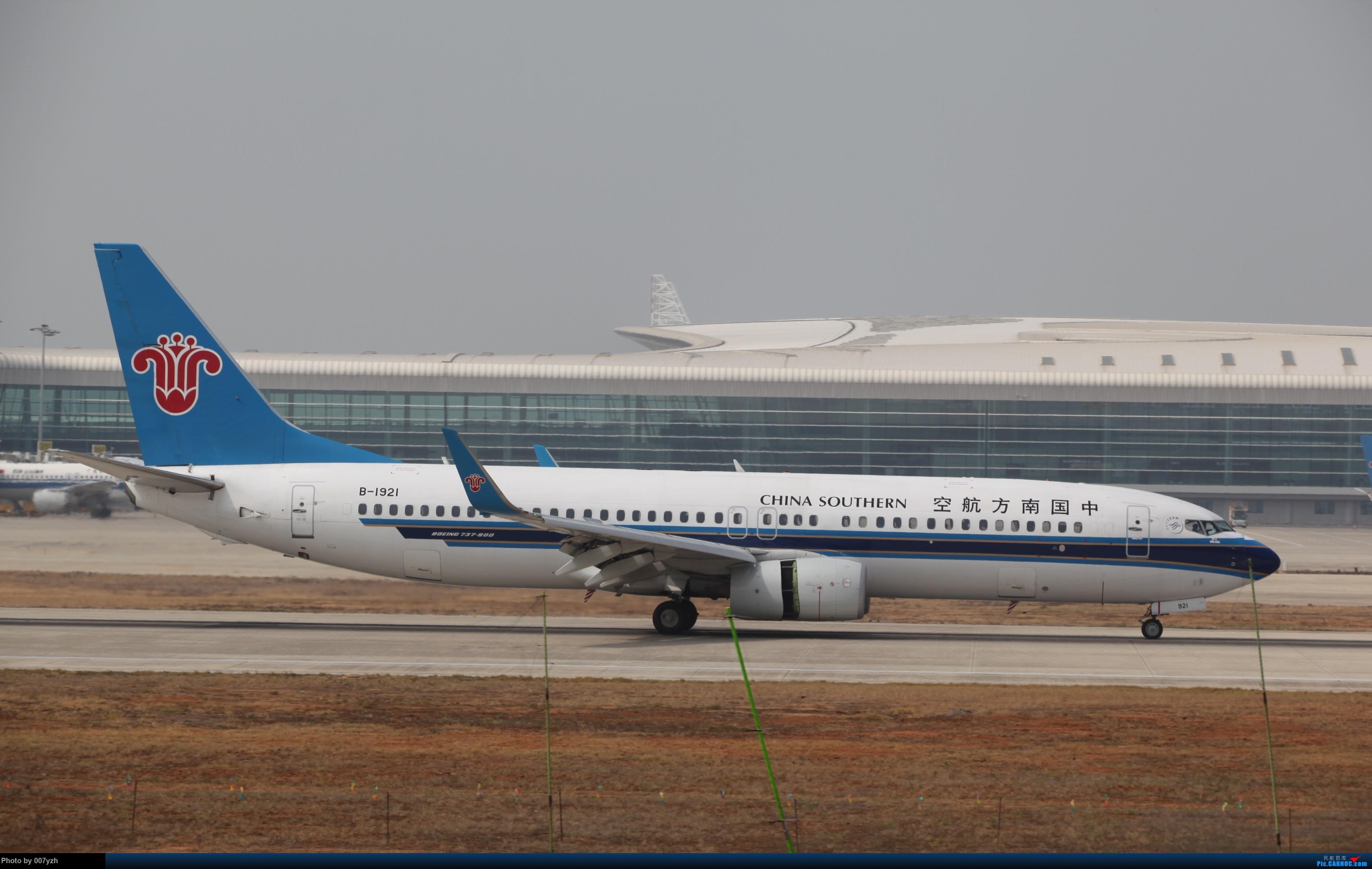 Re:[原创]WUH小拍,终于找到了在WUH拍机的组织 BOEING 737-800 B-1921 中国武汉天河国际机场