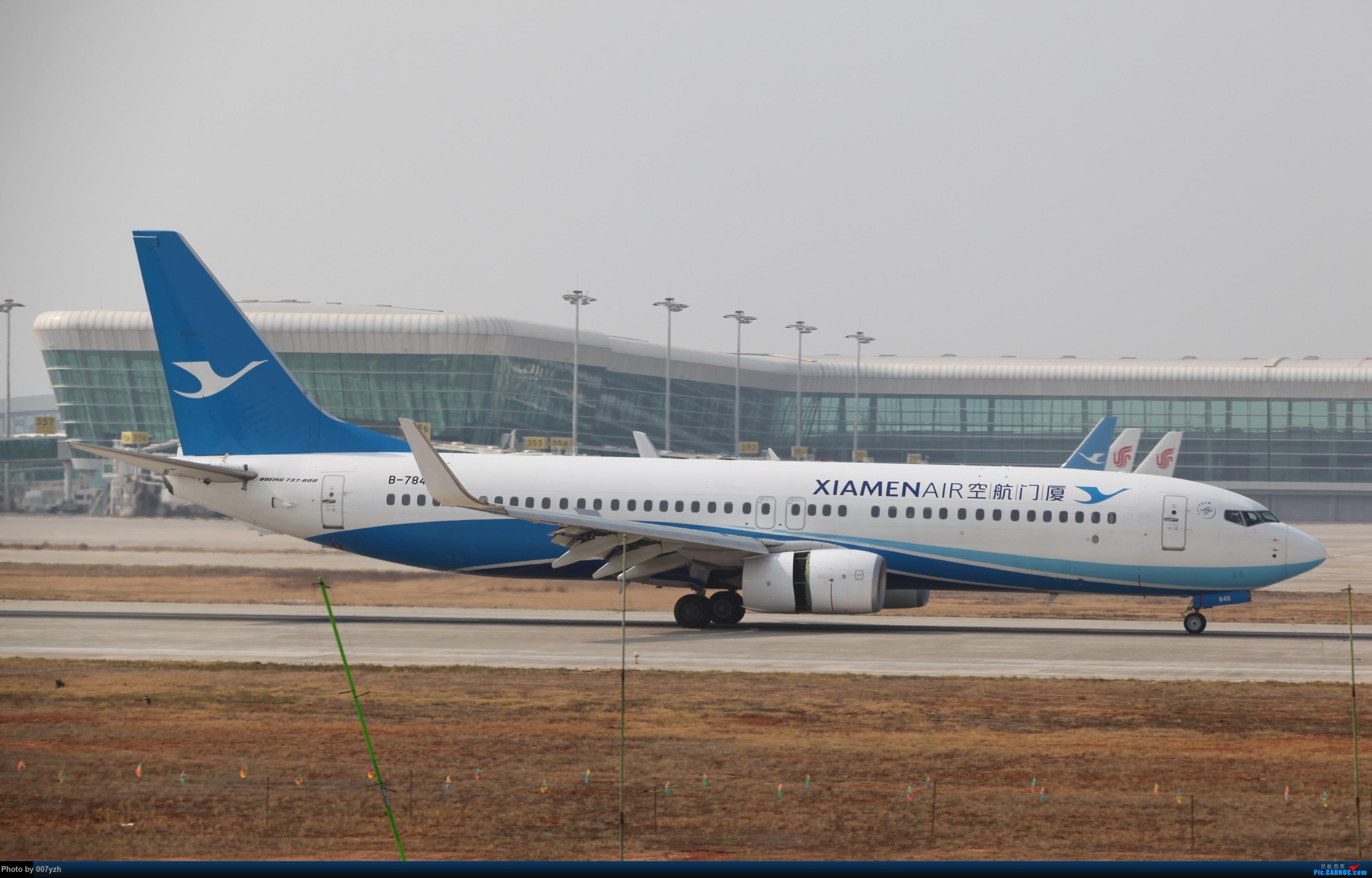 Re:[原创]WUH小拍,终于找到了在WUH拍机的组织 BOEING 737-800 B-7846 中国武汉天河国际机场