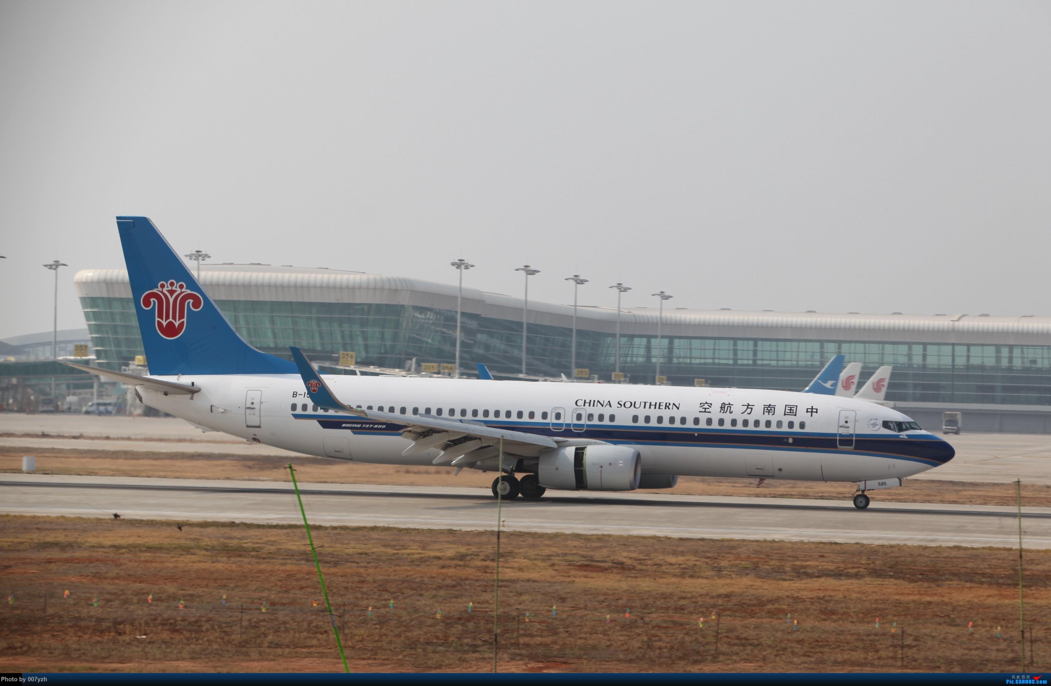 Re:[原创]WUH小拍,终于找到了在WUH拍机的组织 BOEING 737-800 B-1585 中国武汉天河国际机场