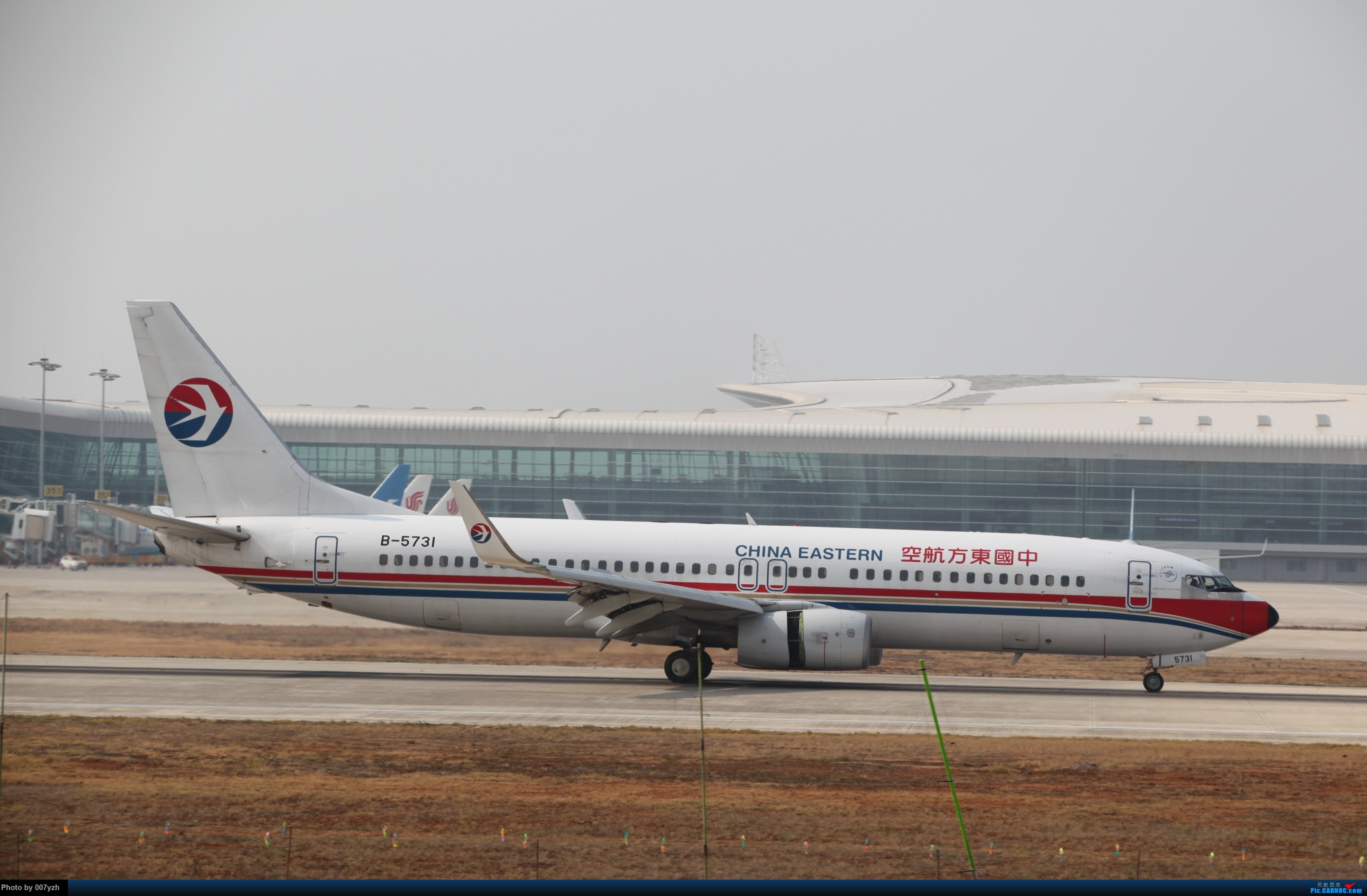 Re:[原创]WUH小拍,终于找到了在WUH拍机的组织 BOEING 737-800 B-5731 中国武汉天河国际机场