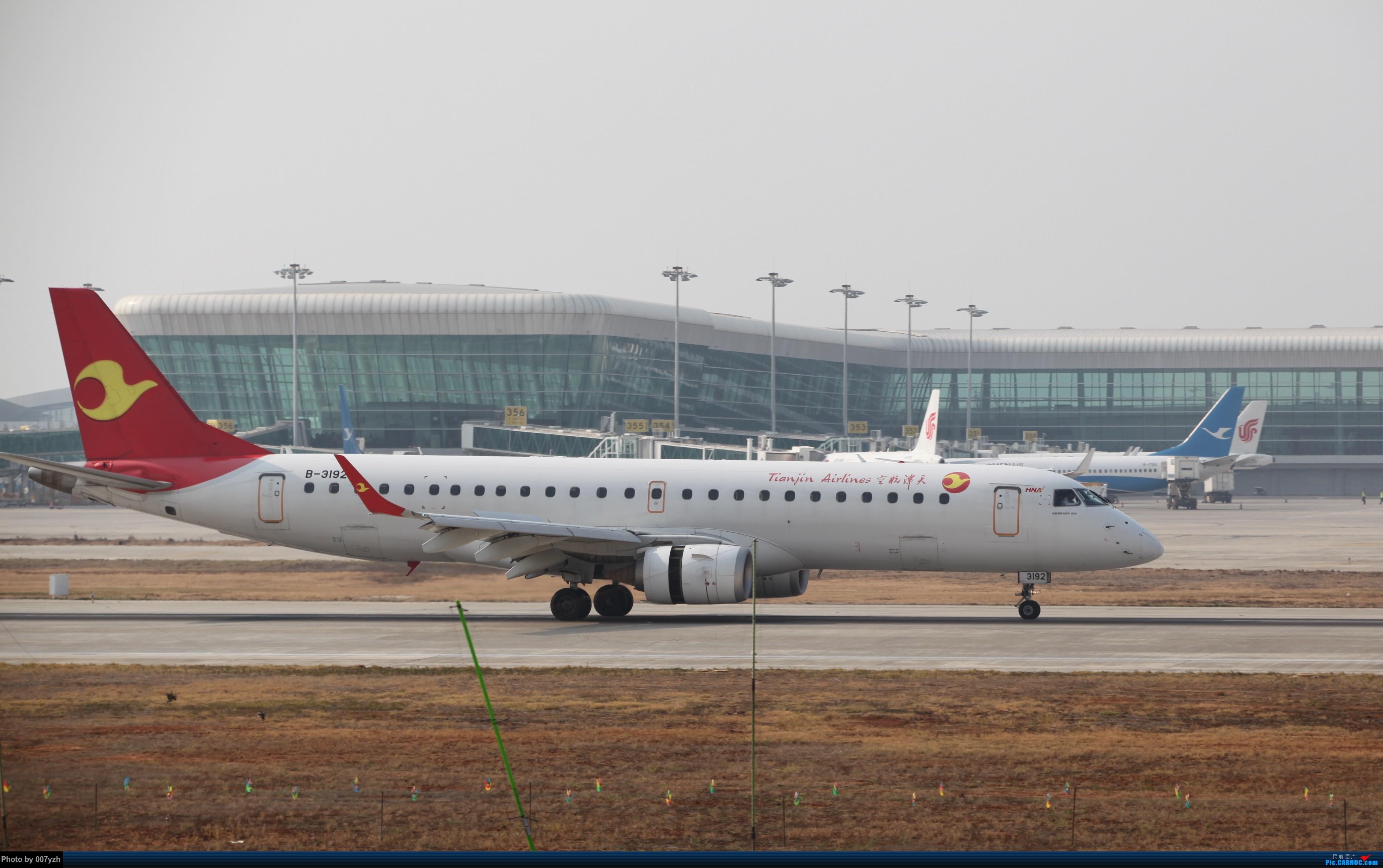 Re:[原创]WUH小拍,终于找到了在WUH拍机的组织 EMBRAER E-190 B-3192 中国武汉天河国际机场
