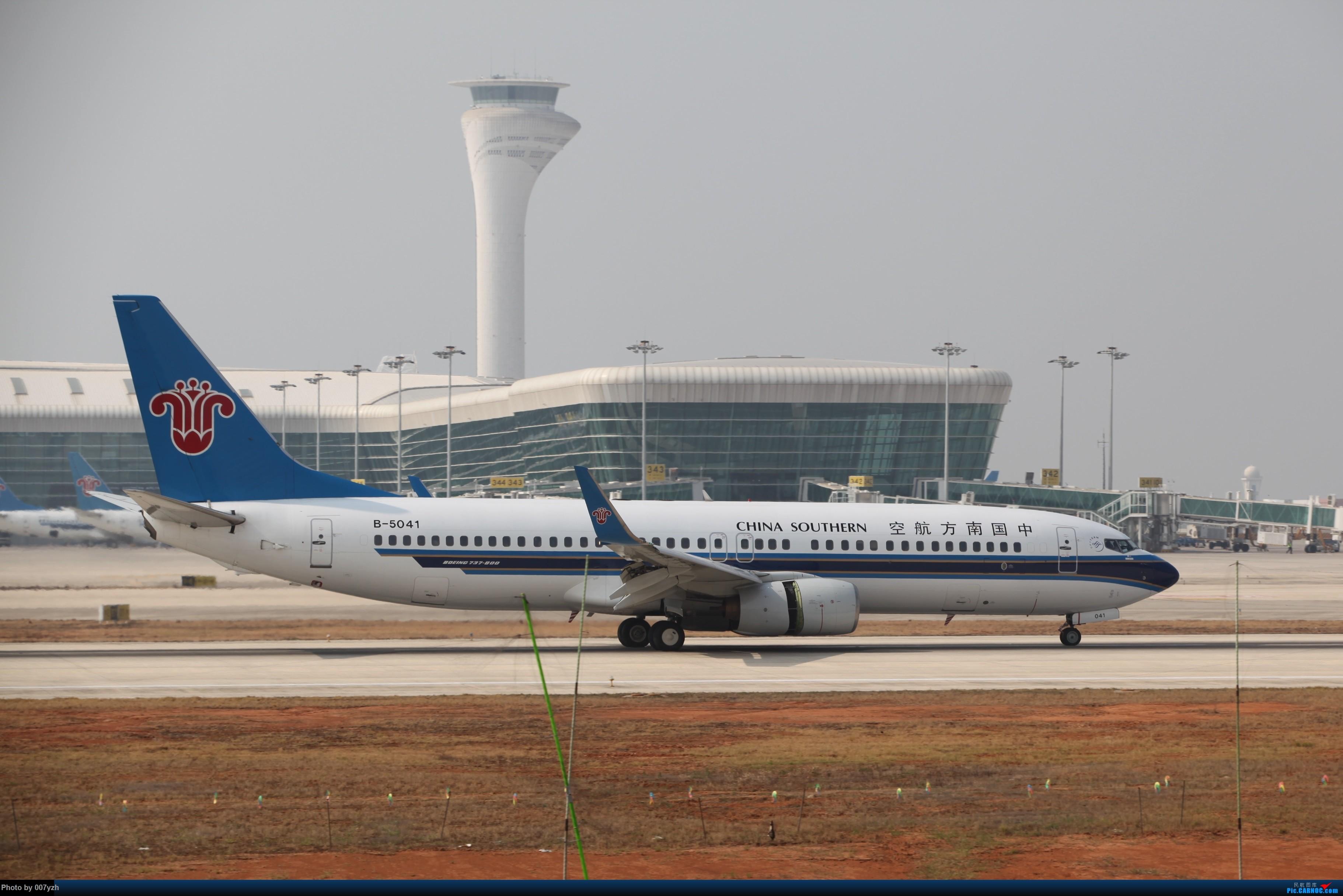 Re:[原创]WUH小拍,终于找到了在WUH拍机的组织 BOEING 737-800 B-5041 中国武汉天河国际机场
