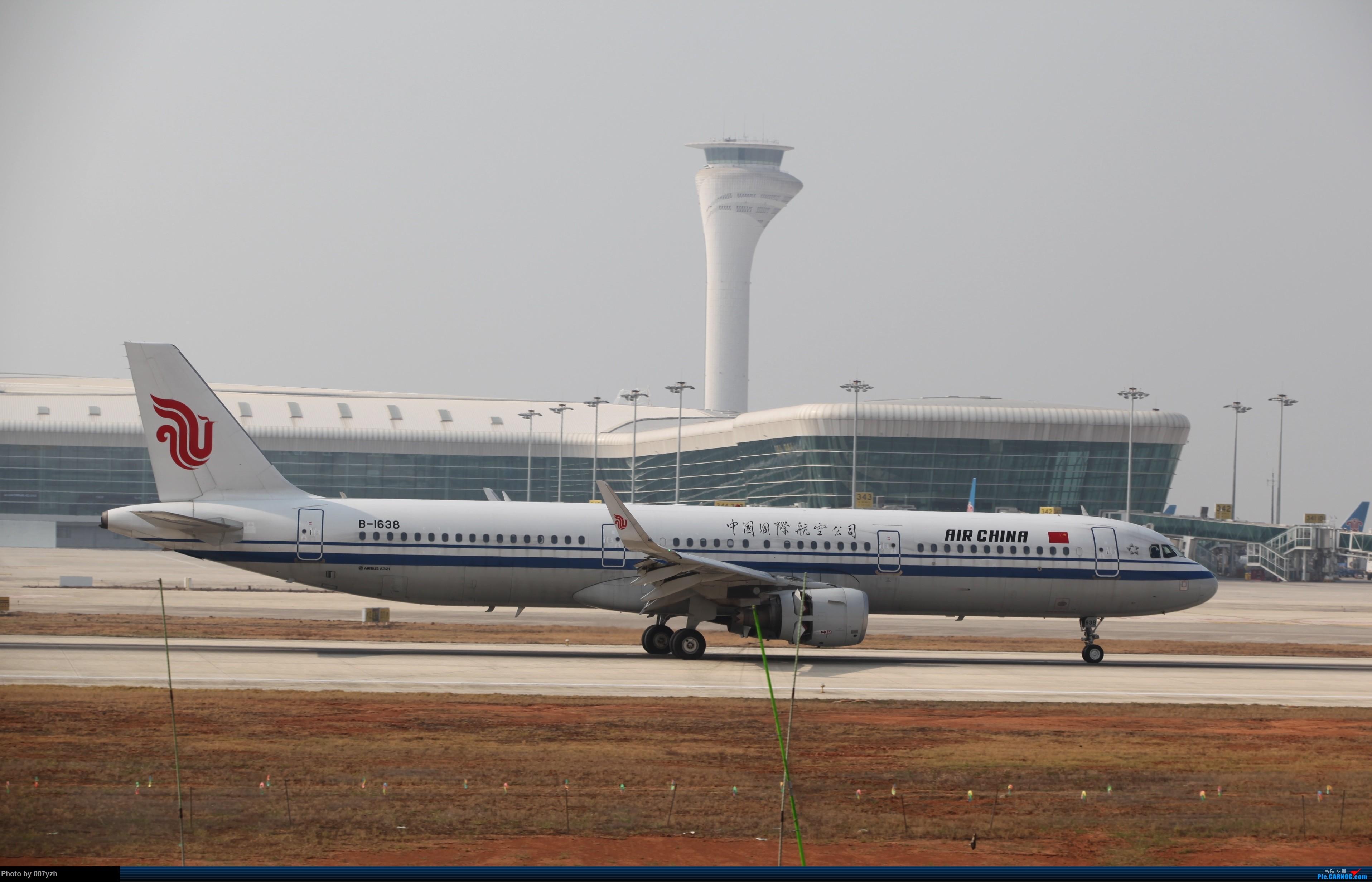 Re:[原创]WUH小拍,终于找到了在WUH拍机的组织 AIRBUS A321-200 B-1638 中国武汉天河国际机场