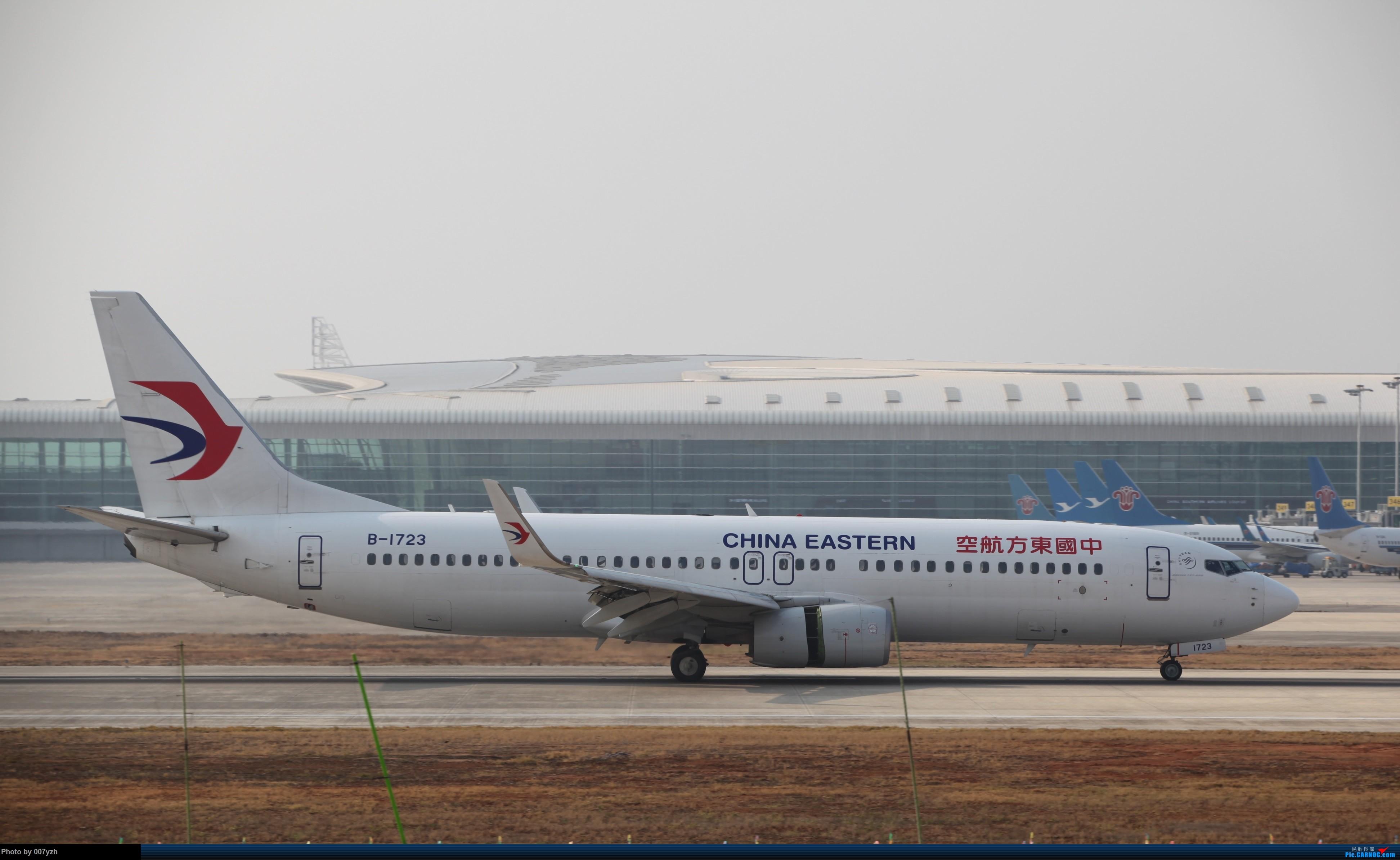 Re:[原创]WUH小拍,终于找到了在WUH拍机的组织 BOEING 737-800 B-1723 中国武汉天河国际机场