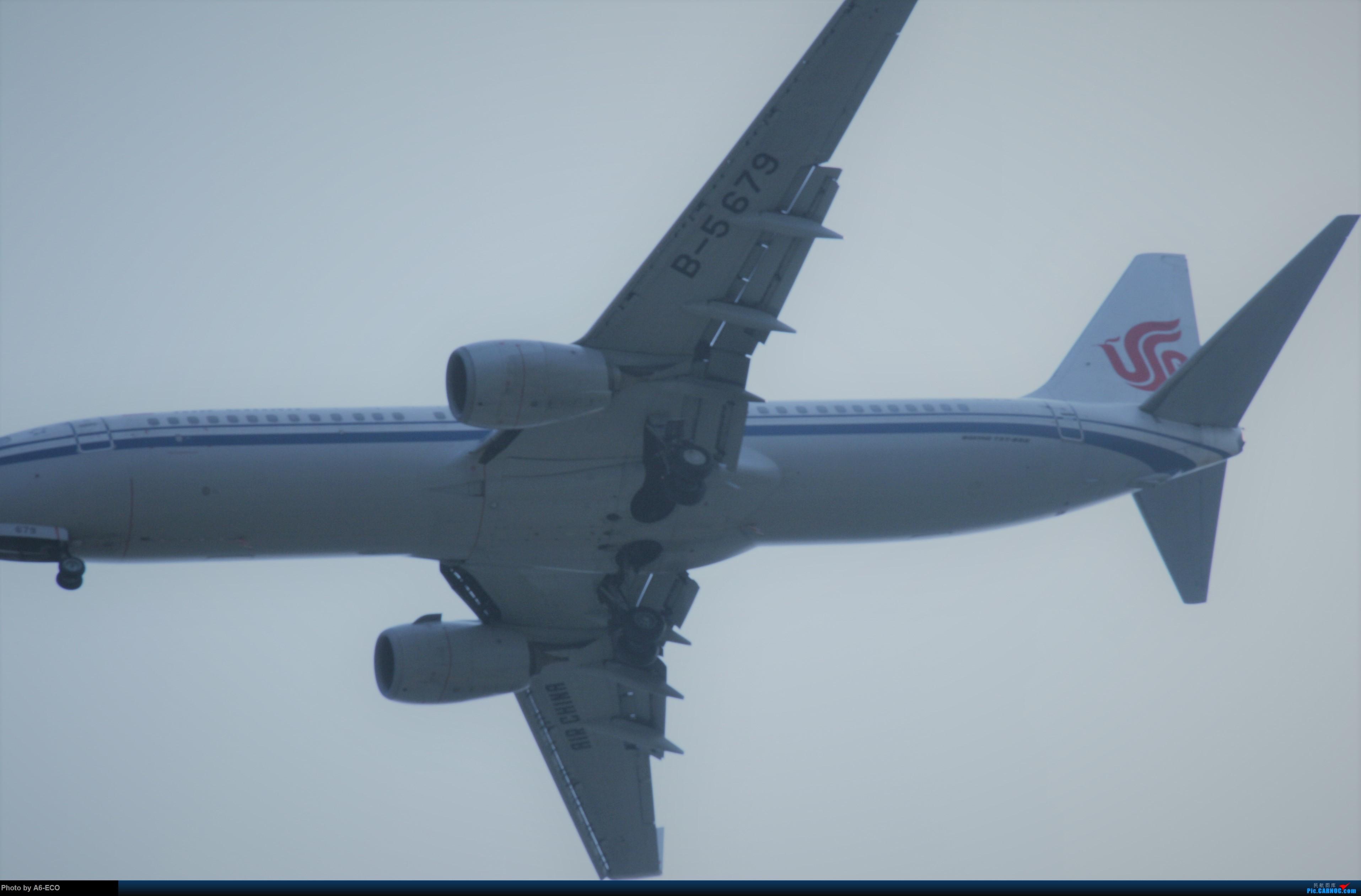 [原创]【Siriの拍机】再次出现PEK BOEING 737-800 B-5679 中国北京首都国际机场