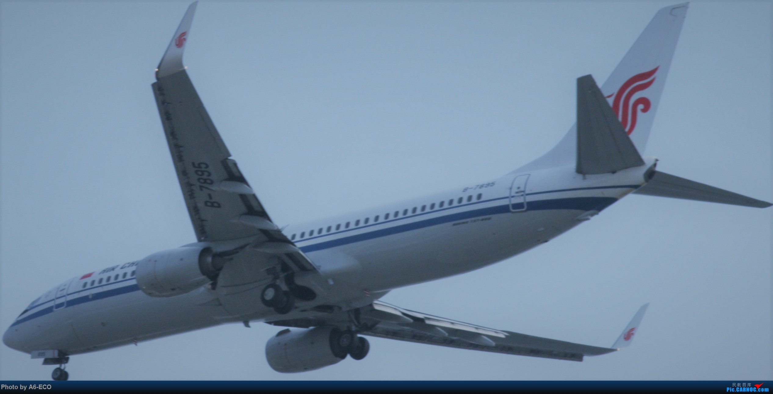 Re:[原创]【Siriの拍机】再次出现PEK BOEING 737-800 B-7895 中国北京首都国际机场