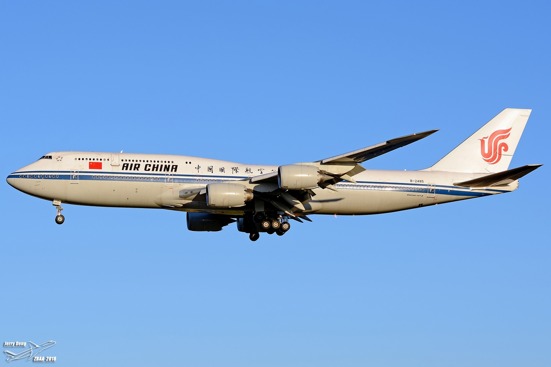 Re:[原创]【多图党】出差赶上天气不错ZBAA随拍 BOEING 747-8I B-2485 中国北京首都国际机场