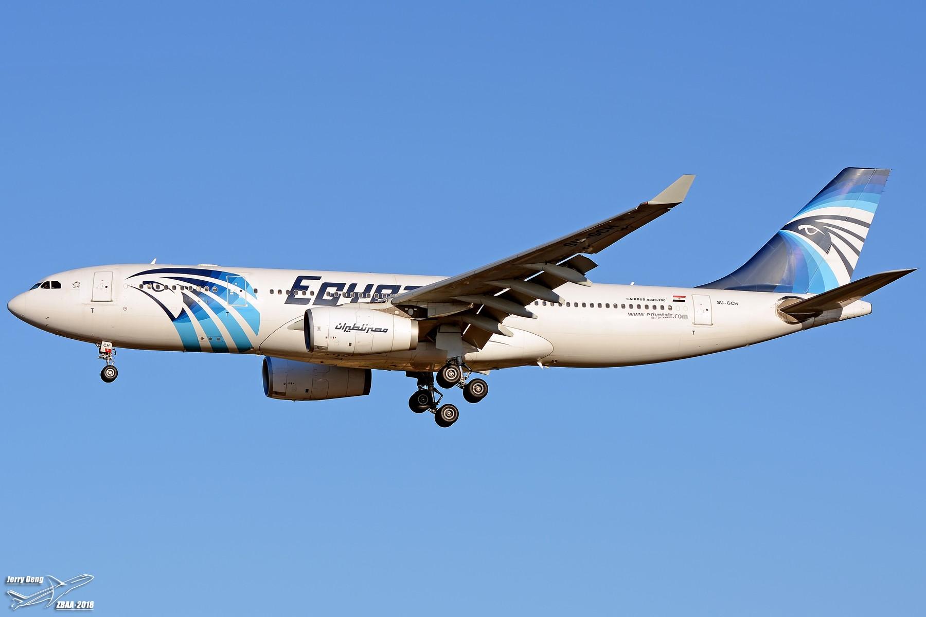 Re:[原创]【多图党】出差赶上天气不错ZBAA随拍 AIRBUS A330-200 SU-GCH 中国北京首都国际机场