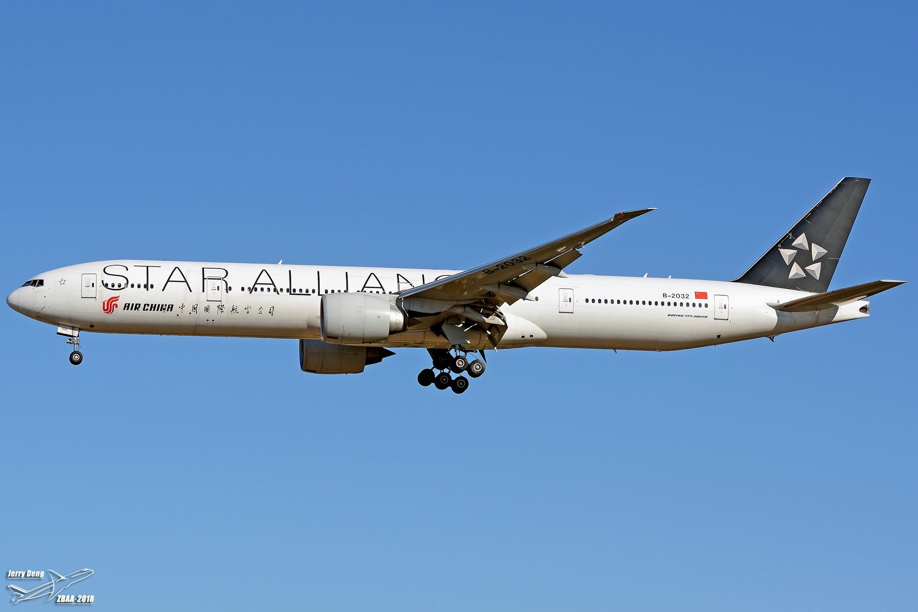 Re:[原创]【多图党】出差赶上天气不错ZBAA随拍 BOEING 777-300ER B-2032 中国北京首都国际机场
