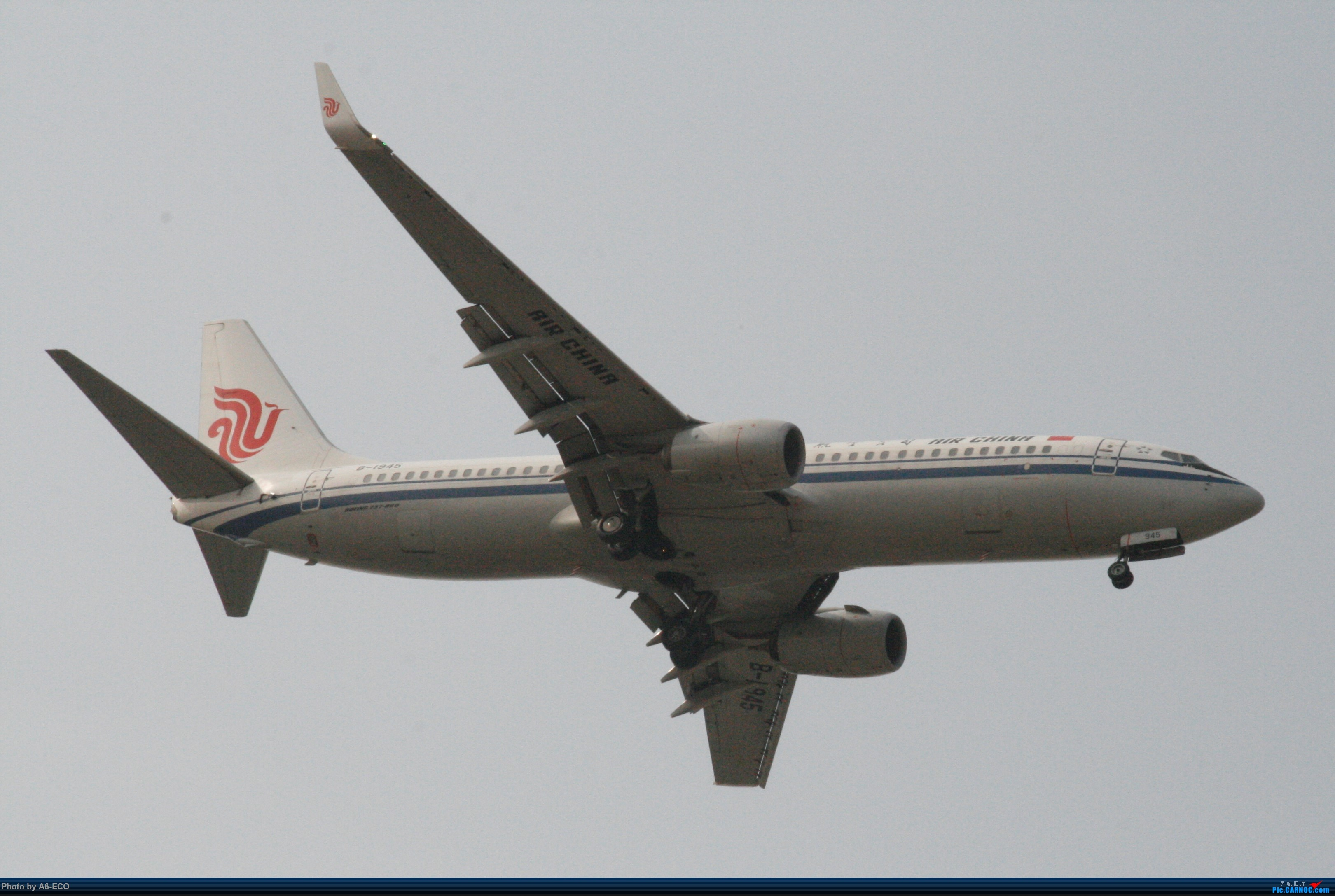 Re:[原创]【Siriの拍机】再次出现PEK BOEING 737-800 B-1945 中国北京首都国际机场