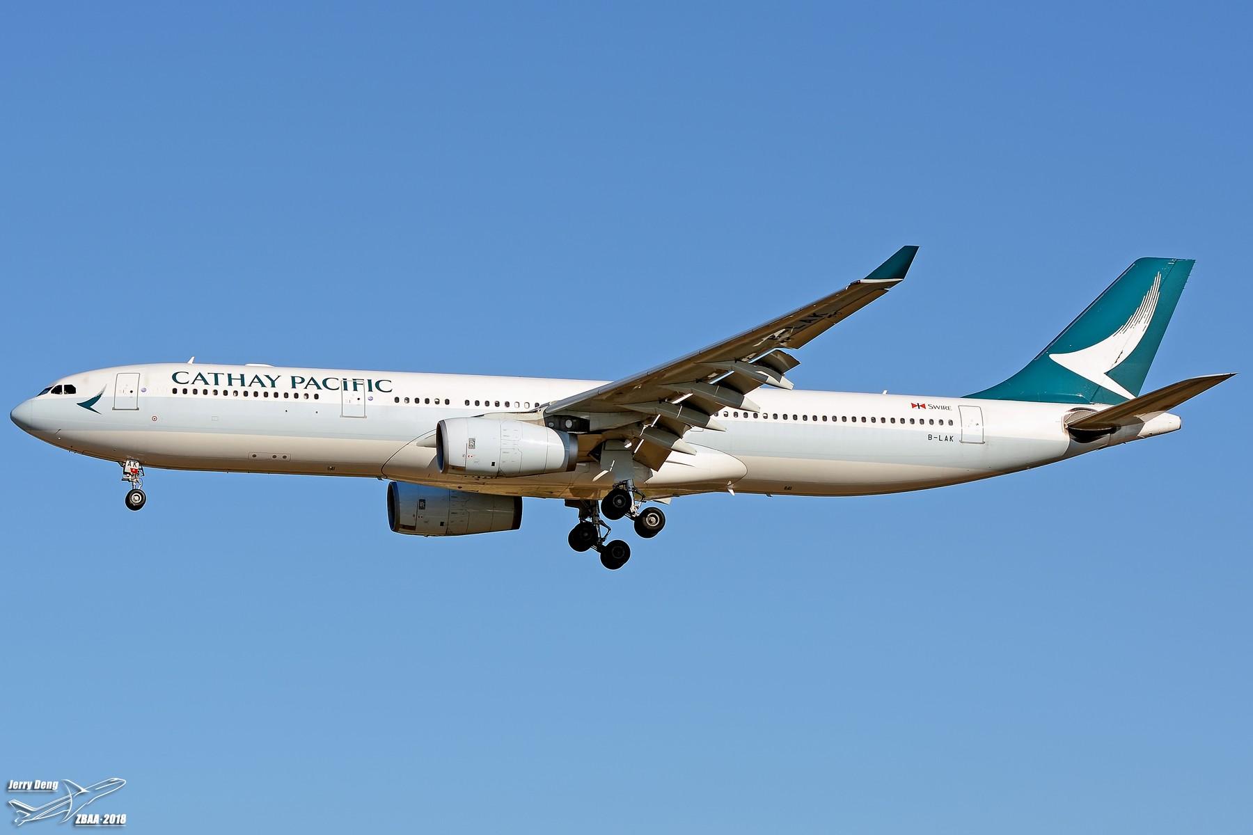 Re:[原创]【多图党】出差赶上天气不错ZBAA随拍 AIRBUS A330-300 B-LAK 中国北京首都国际机场