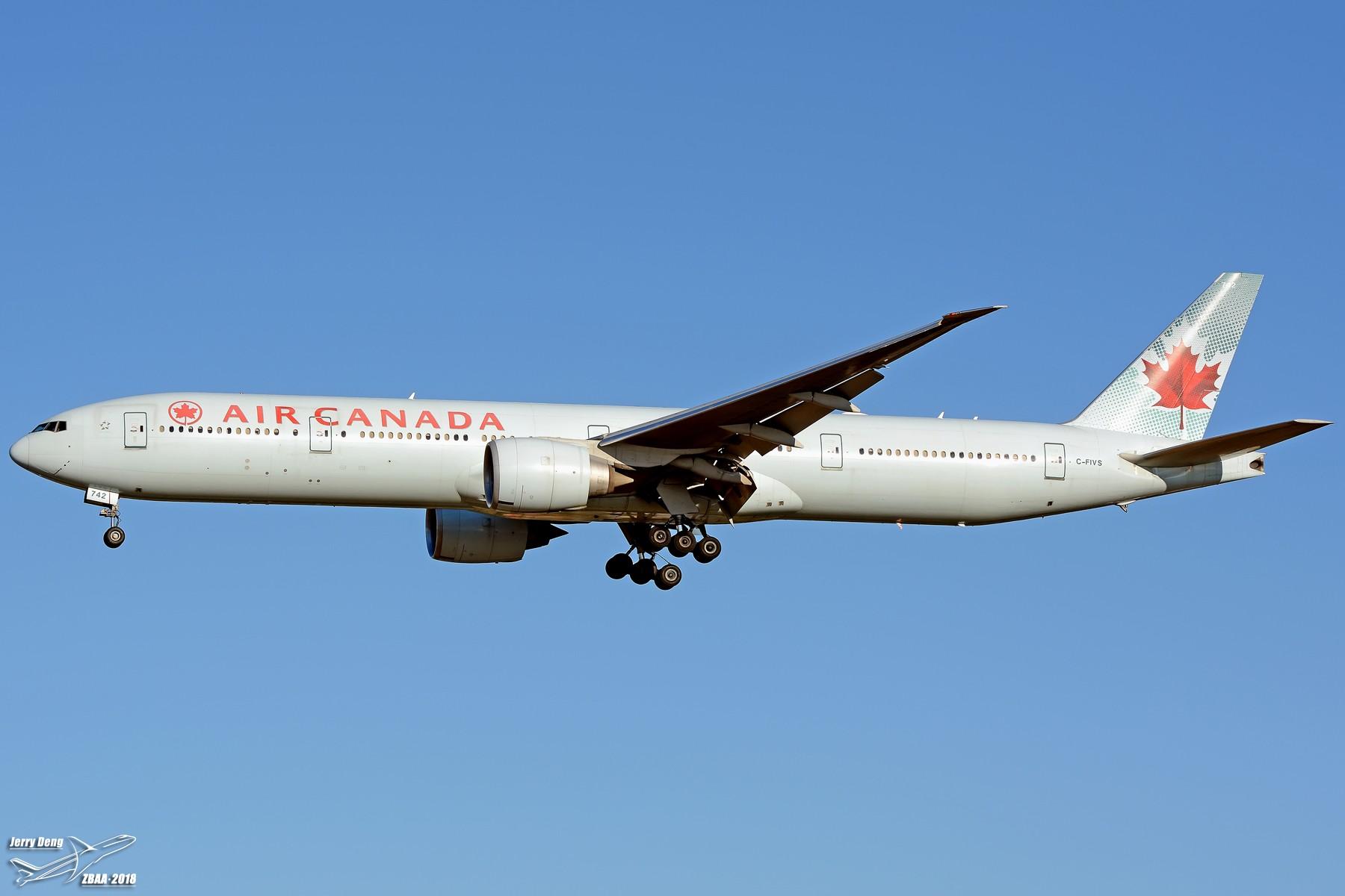 Re:[原创]【多图党】出差赶上天气不错ZBAA随拍 BOEING 777-300ER C-FIVS 中国北京首都国际机场