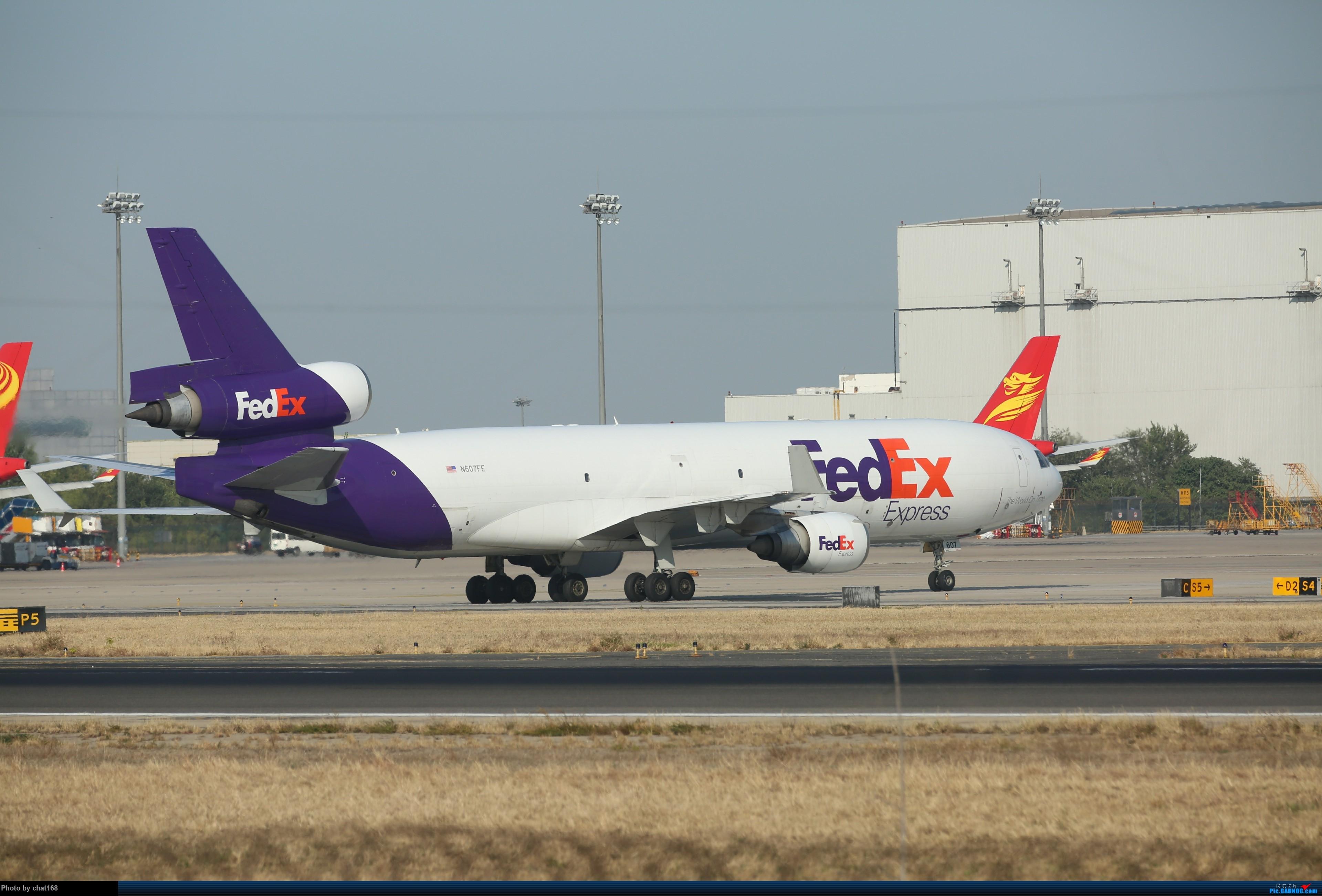 Re:[原创]来一组比较少见的 MD-11 (三发) 照片 MD-11 N-607FE PEK