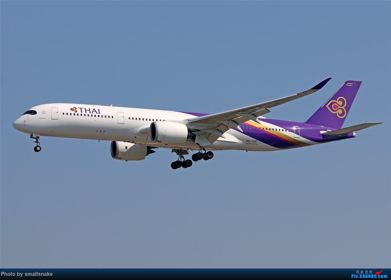 Re:[原创]国庆期间,CAN的那些宽体们... AIRBUS A350-900 HS-THE 广州白云国际机场