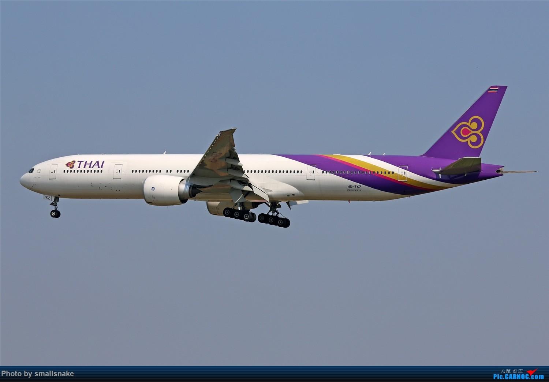 Re:[原创]国庆期间,CAN的那些宽体们... BOEING 777-300ER HS-TKZ 广州白云国际机场