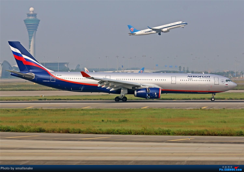 Re:[原创]国庆期间,CAN的那些宽体们... AIRBUS A330-200 VQ-BPI 广州白云国际机场
