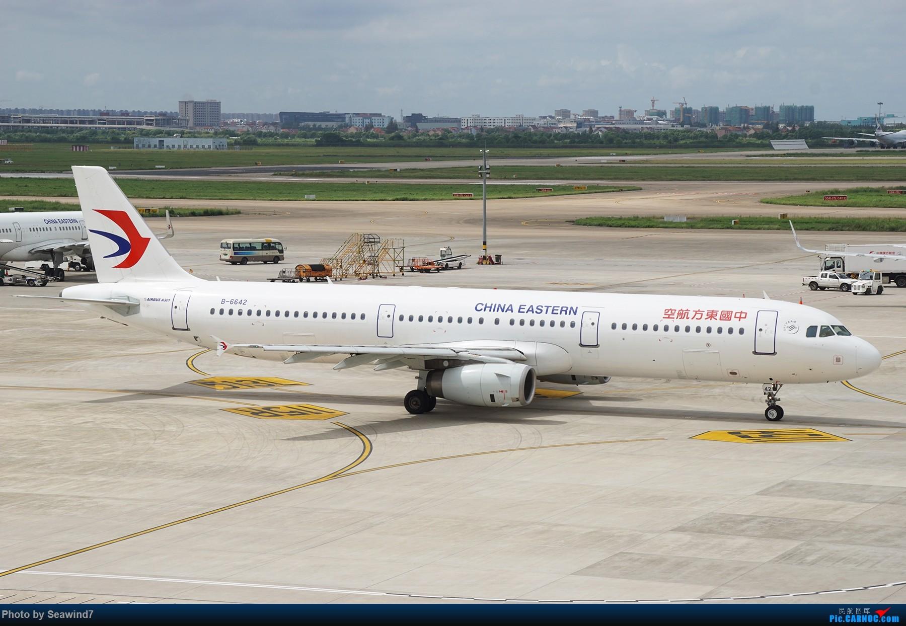 Re:[原创]浦东拍机记 AIRBUS A321-200 B-6642 中国上海浦东国际机场
