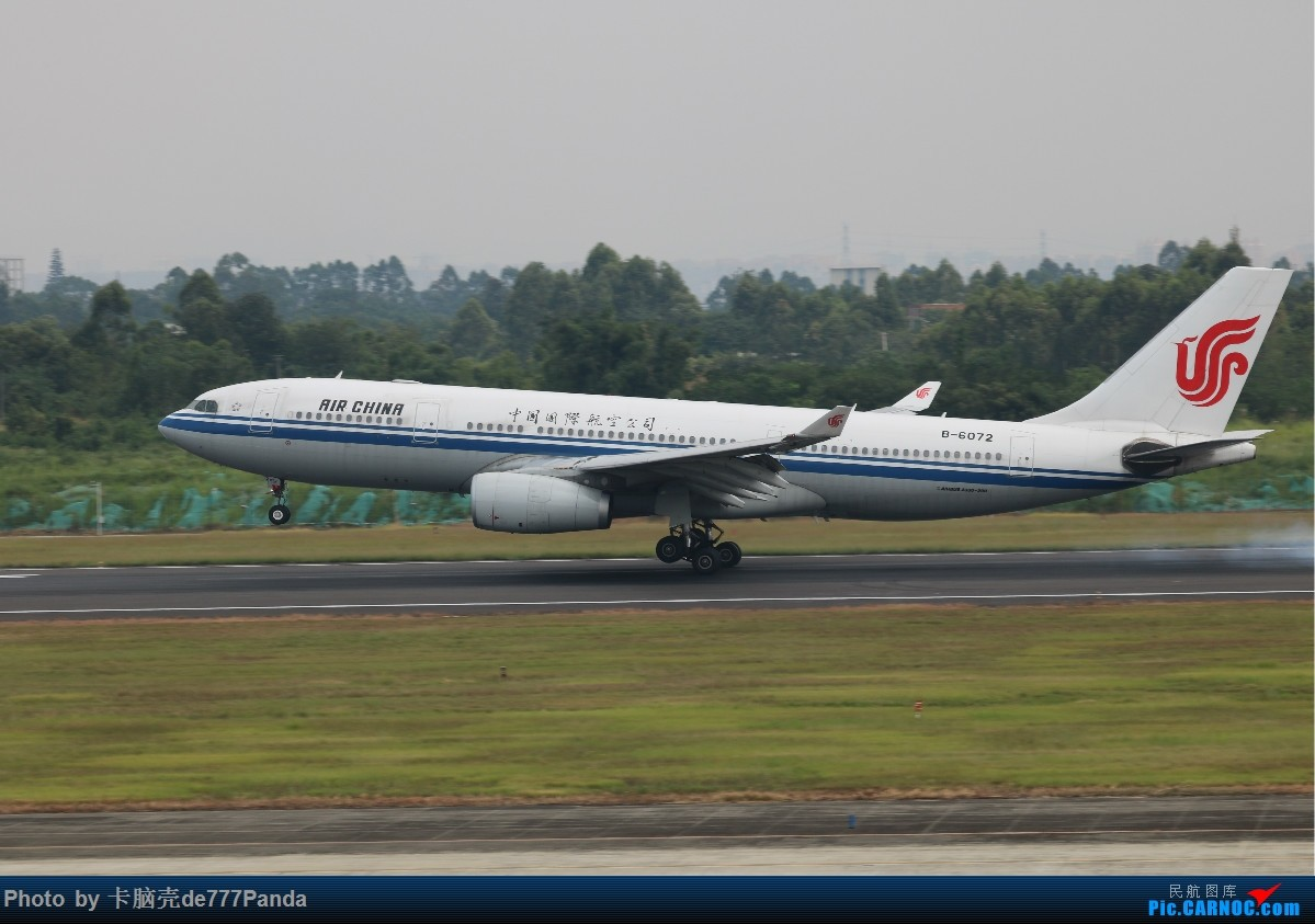 Re:[原创]9月CTU拍机,川航熊猫机初体验 AIRBUS A330-200 B-6072