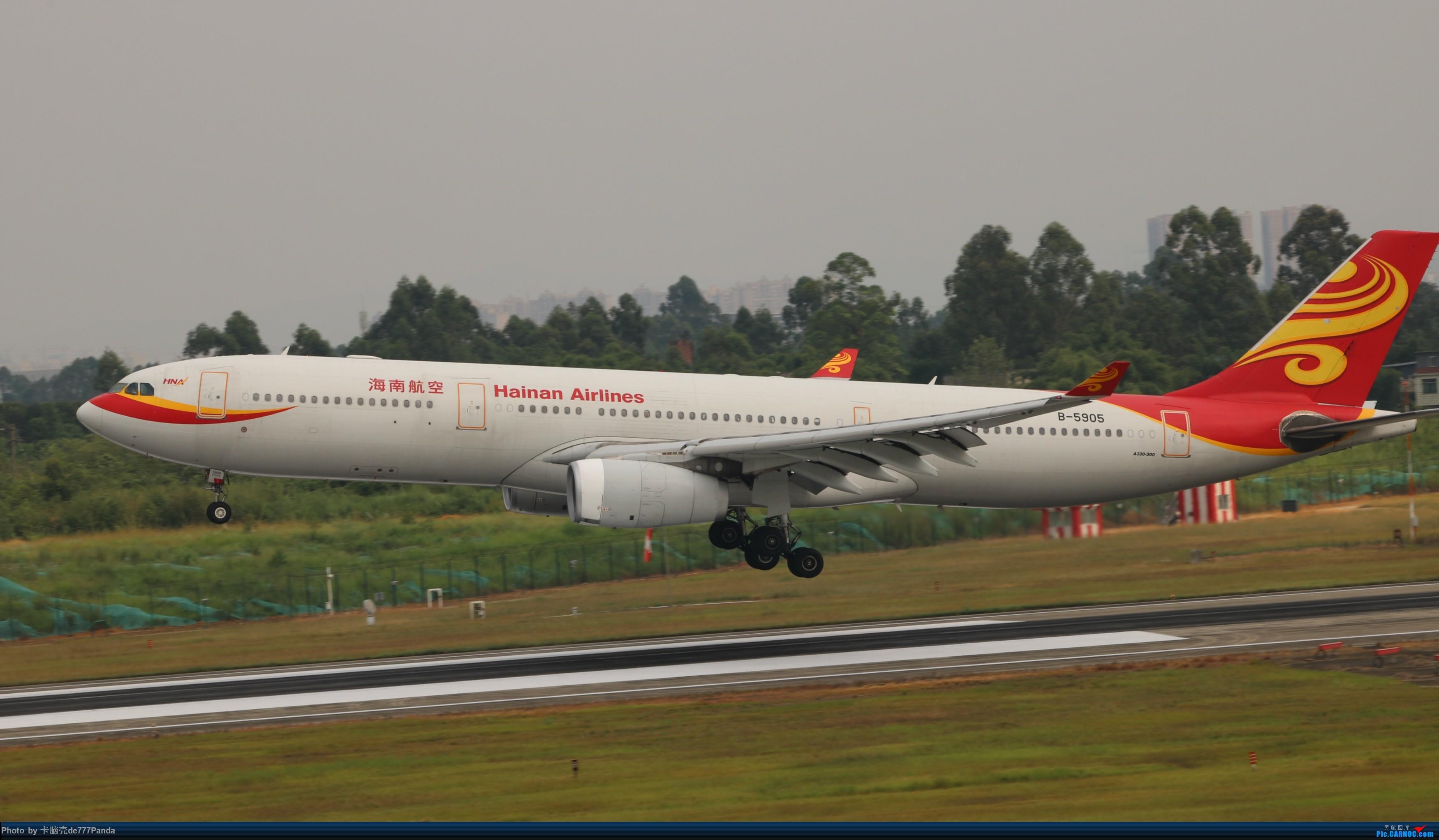 Re:[原创]9月CTU拍机,川航熊猫机初体验 AIRBUS A330-300 B-5905