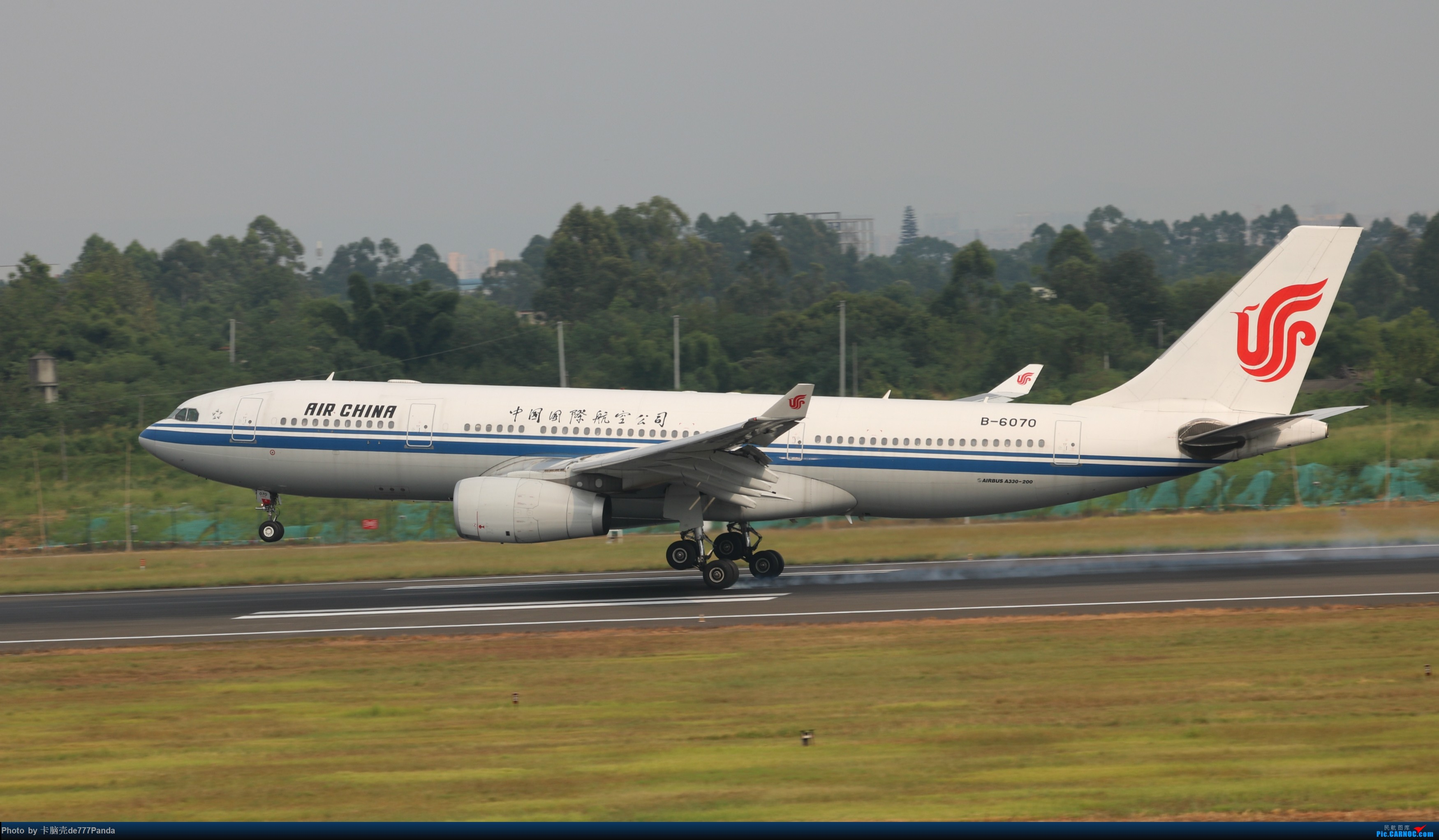 Re:[原创]9月CTU拍机,川航熊猫机初体验 AIRBUS A330-200 B-6070