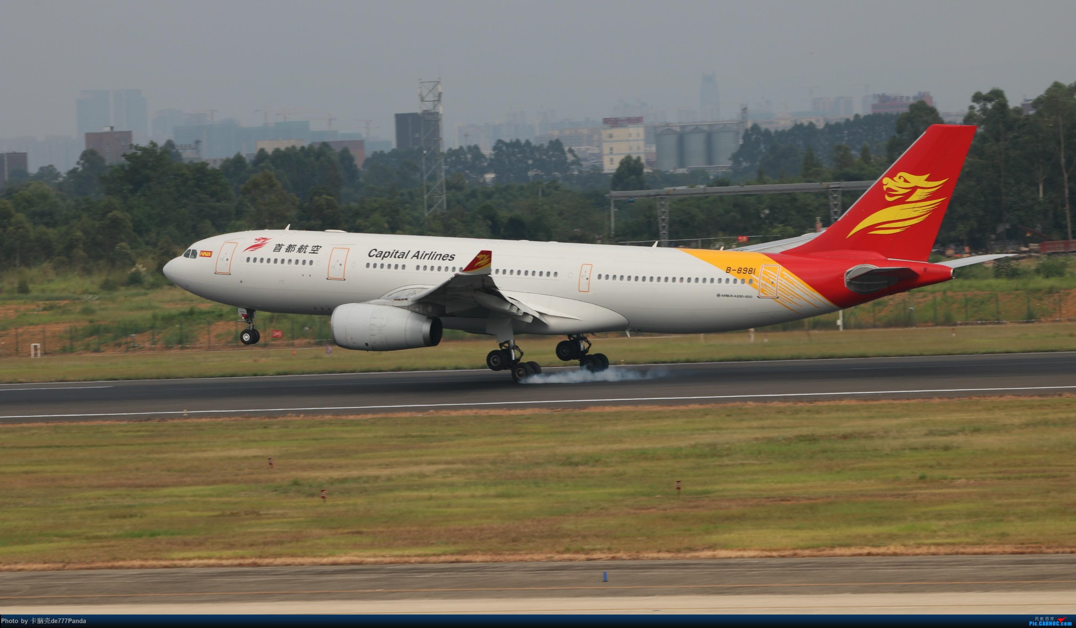 Re:9月CTU拍机,川航熊猫机初体验 AIRBUS A330-200 B-8981