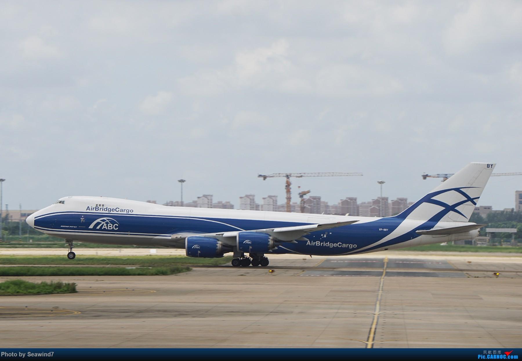 Re:[原创]浦东拍机记 BOEING 747-8F  中国上海浦东国际机场