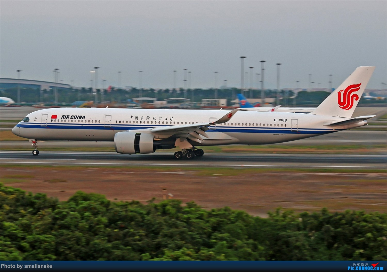 Re:[原创]国庆期间,CAN的那些宽体们... AIRBUS A350-900 B-1086 广州白云国际机场