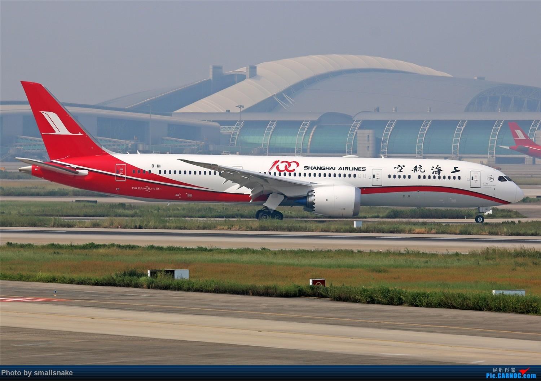 Re:[原创]国庆期间,CAN的那些宽体们... BOEING 787-9 B-1111 广州白云国际机场