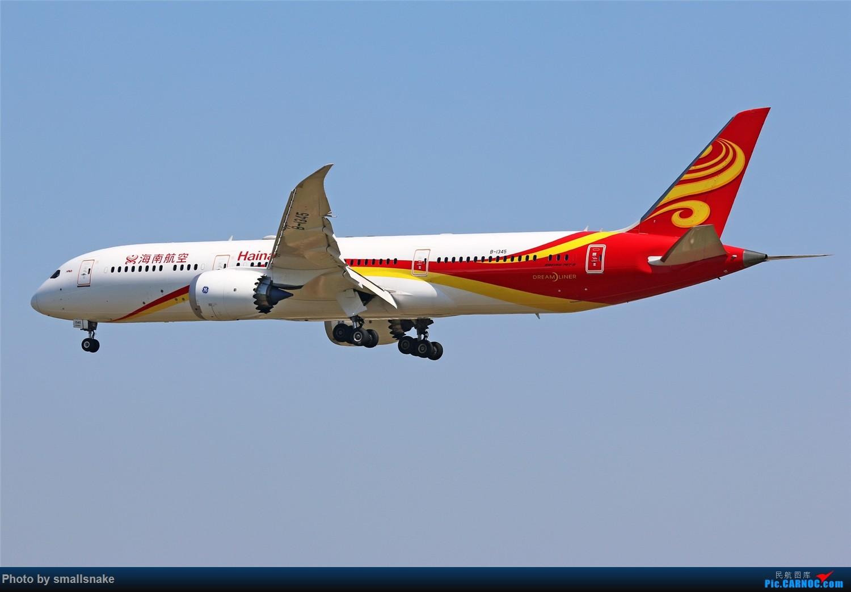 Re:[原创]国庆期间,CAN的那些宽体们... BOEING 787-9 B-1345 广州白云国际机场